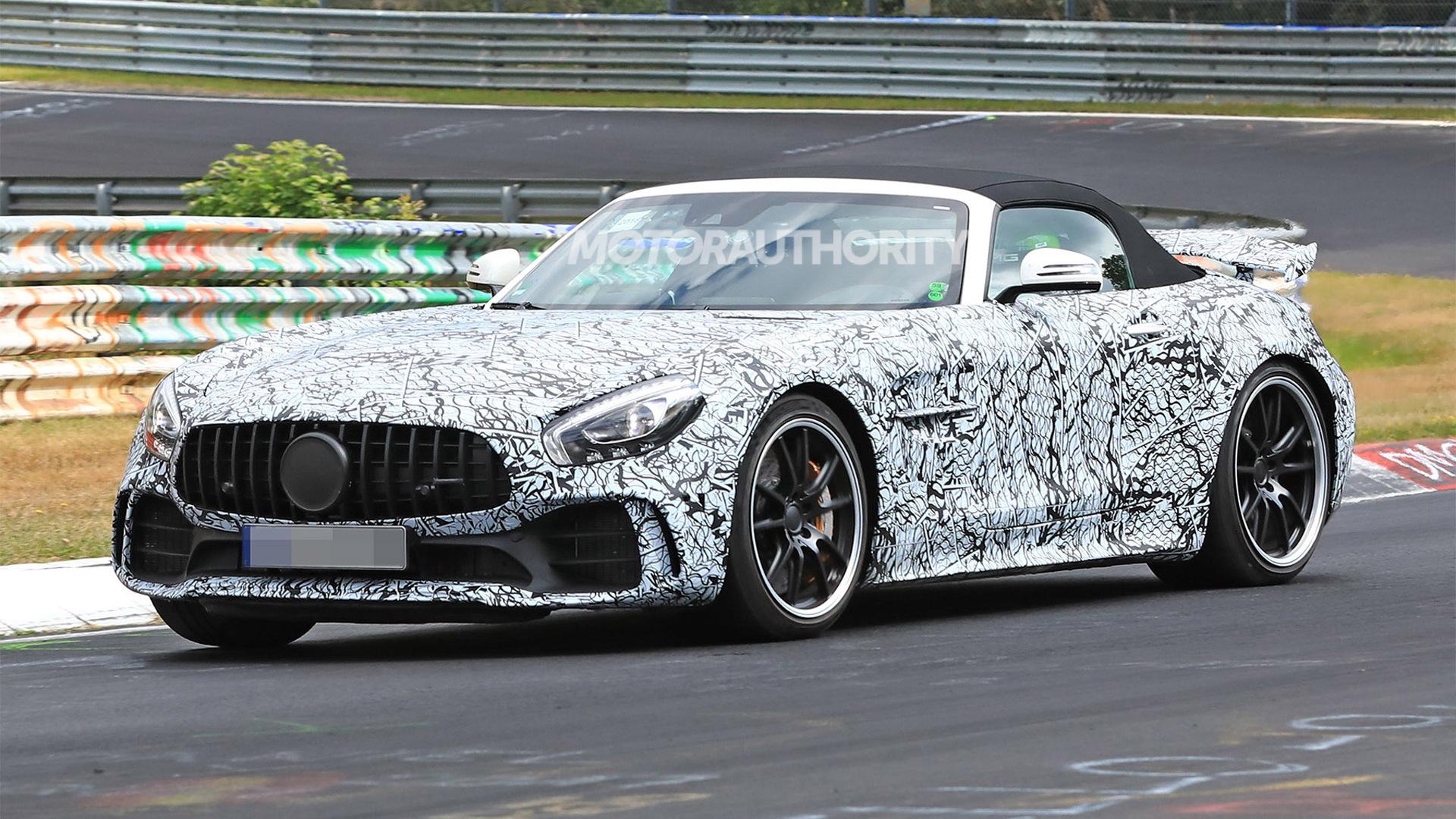 2020 Mercedes-AMG GT R Roadster spy shots - Image via S. Baldauf/SB-Medien