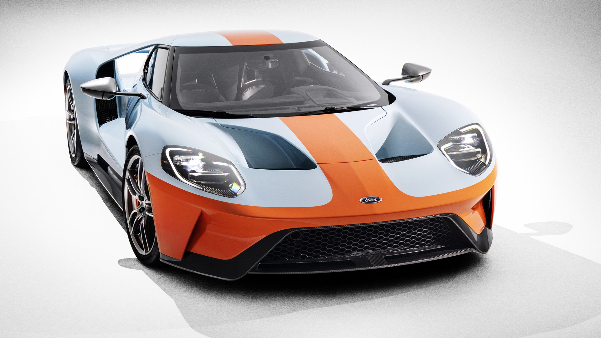 2019 Ford GT Heritage Edition Wears Famous Gulf Oil Livery