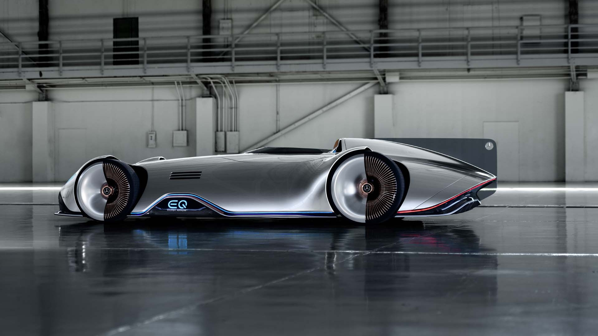 Mercedes' EQ Silver Arrow concept