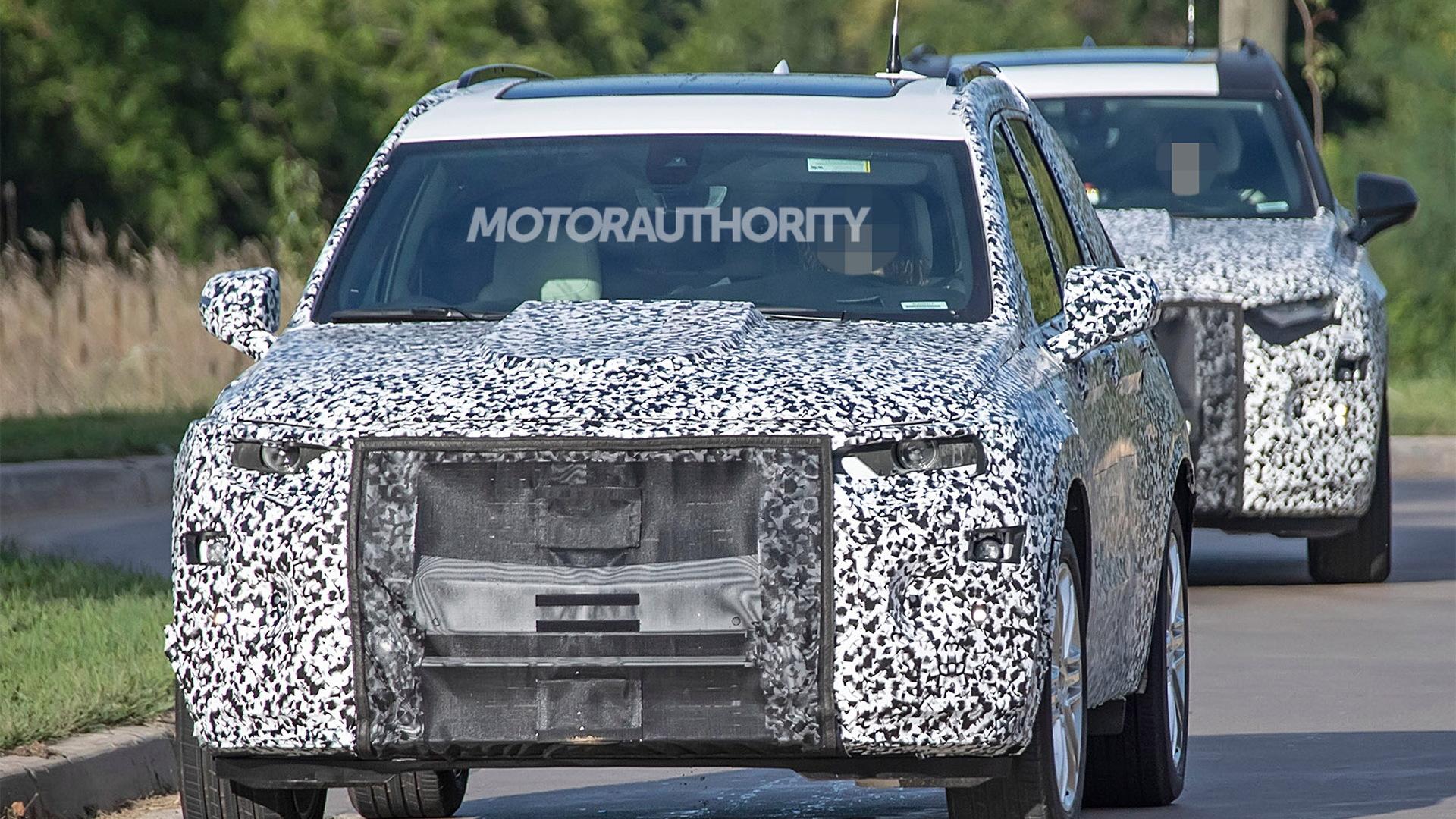 2020 Cadillac XT6 spy shots - Image via S. Baldauf/SB-Medien