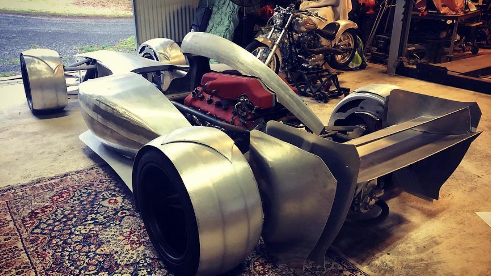 Ferrari-powered F1 car for the street Photo: Zacariasupercars
