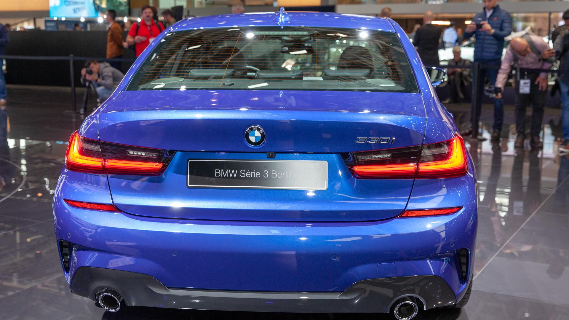 2019 BMW 3-Series, 2018 Paris auto show