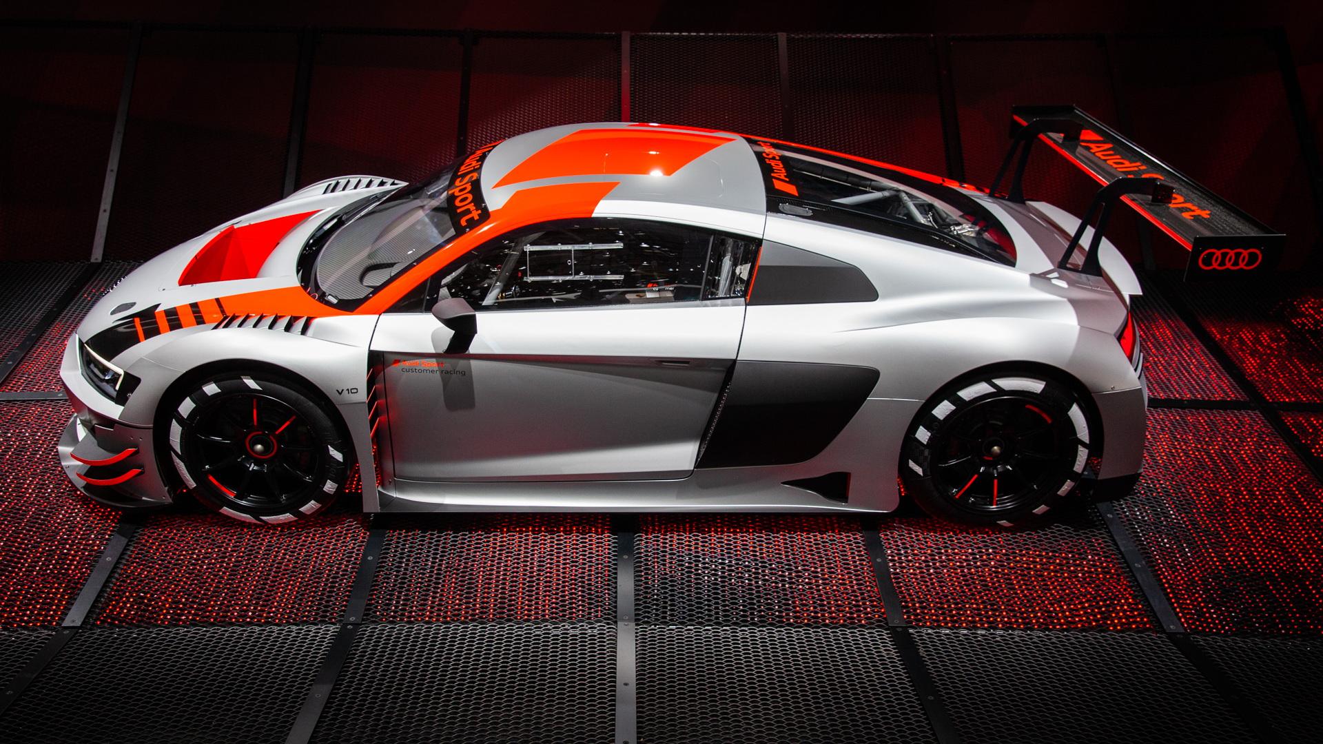 Audi Sport R8 LMS, 2018 Paris auto show