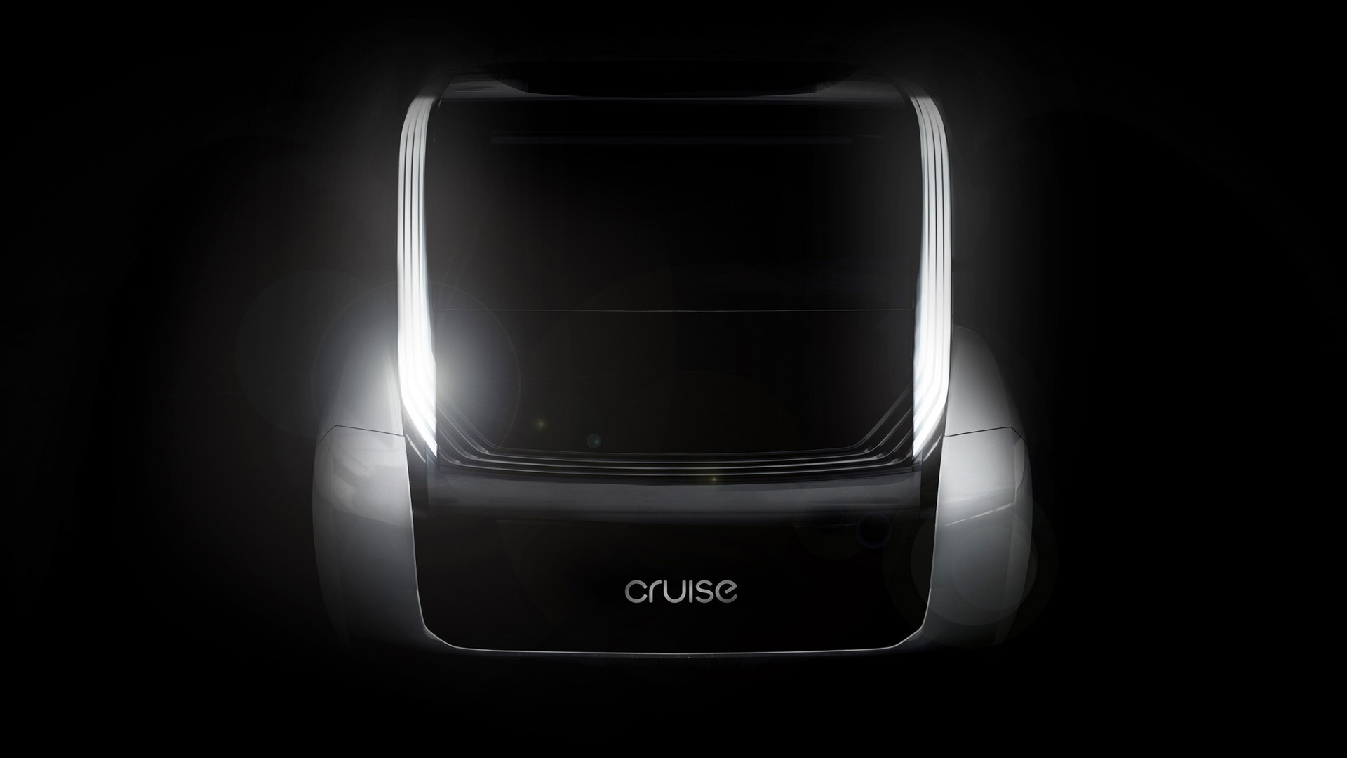 Concept rendering for Cruise purpose-built self-driving car