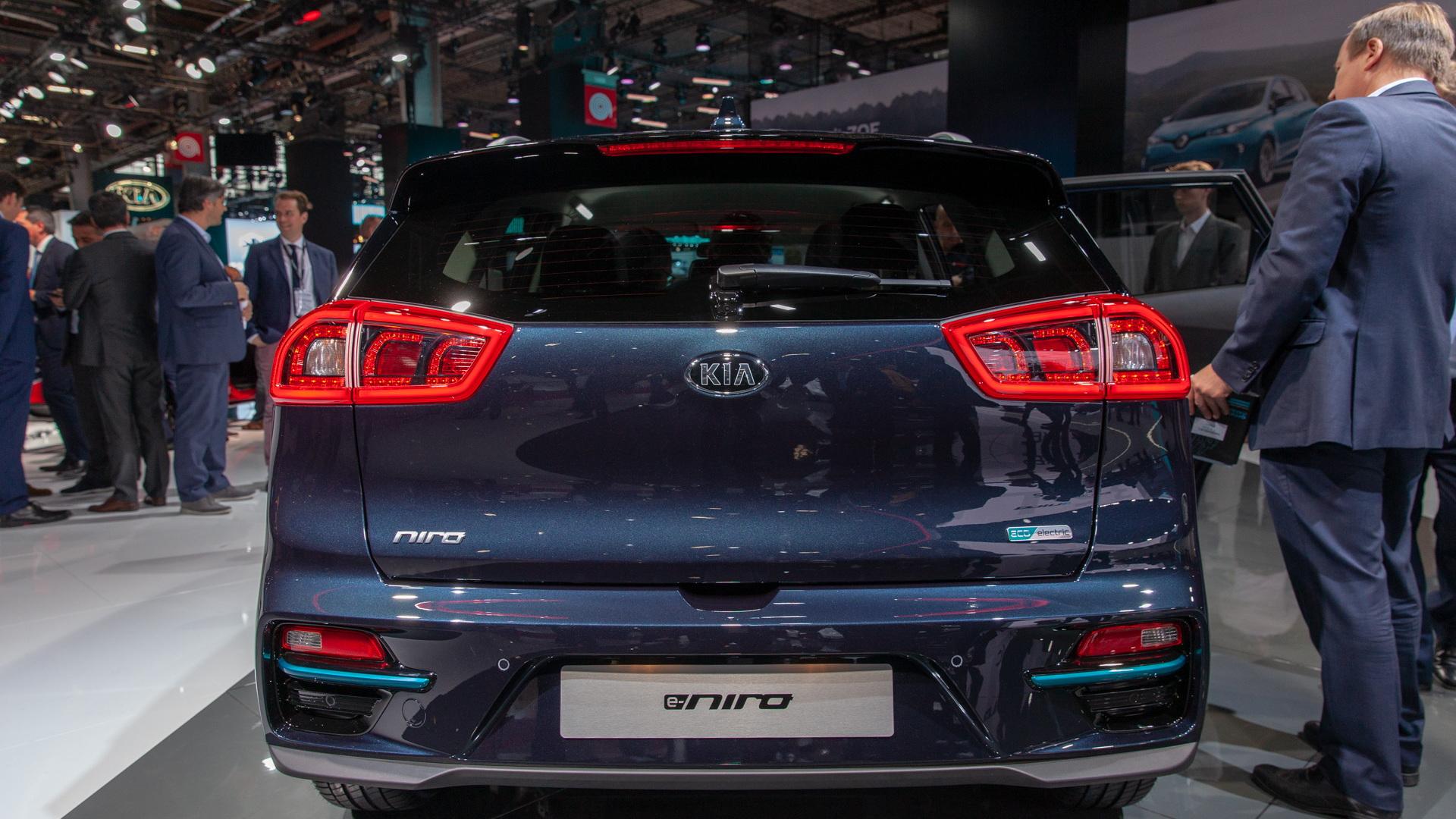 2020 Kia Niro EV, 2018 Paris auto show