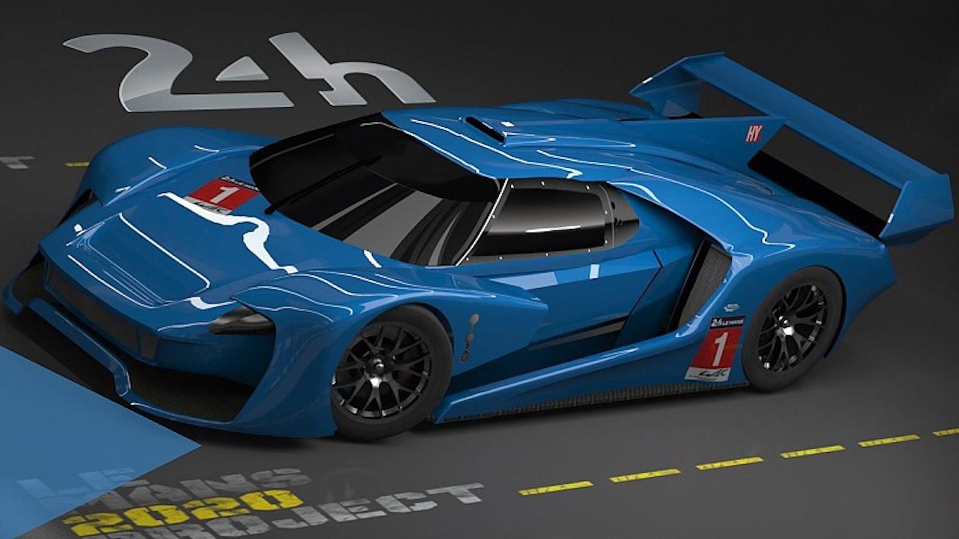 FIA Hypercar Class mock image