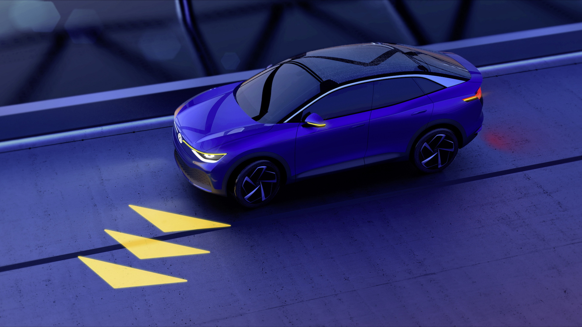 VW future communicating lights