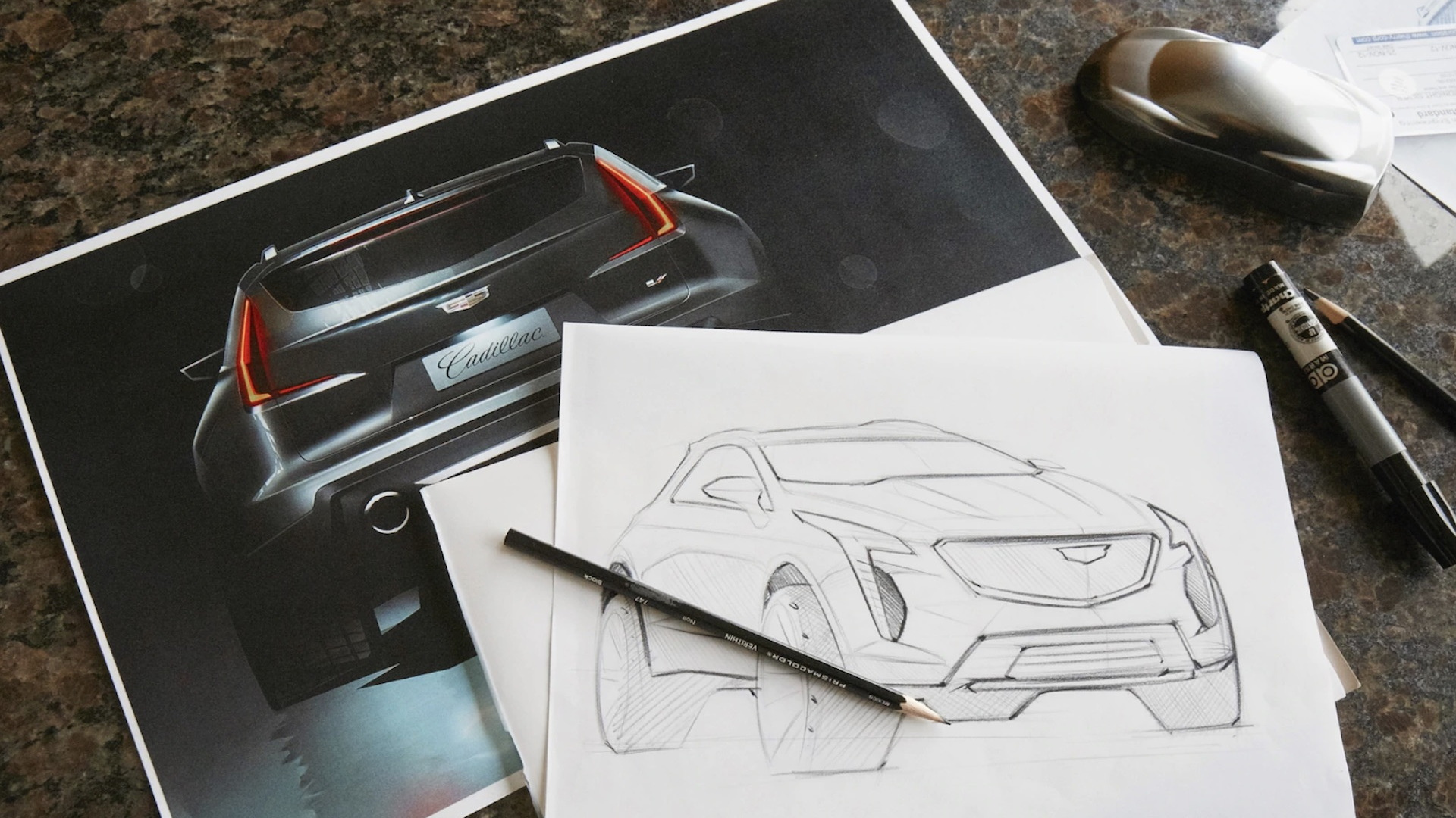 Cadillac XT4 V-Sport Rendering