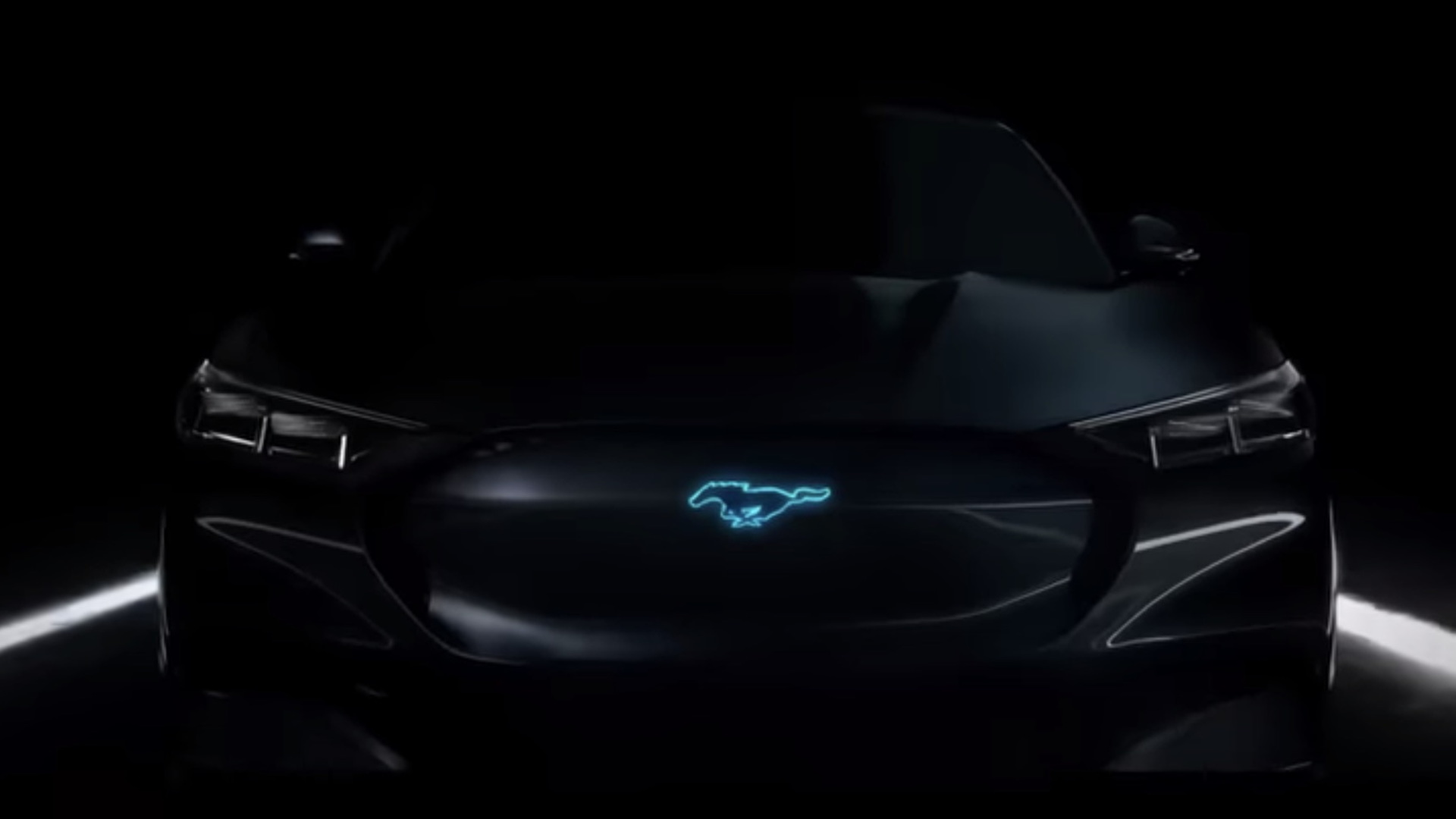 Mystery Ford Mustang teaser