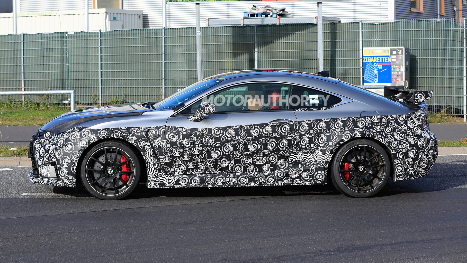 2020 Lexus RC F Track Edition spy shots - Image via S. Baldauf/SB-Medien