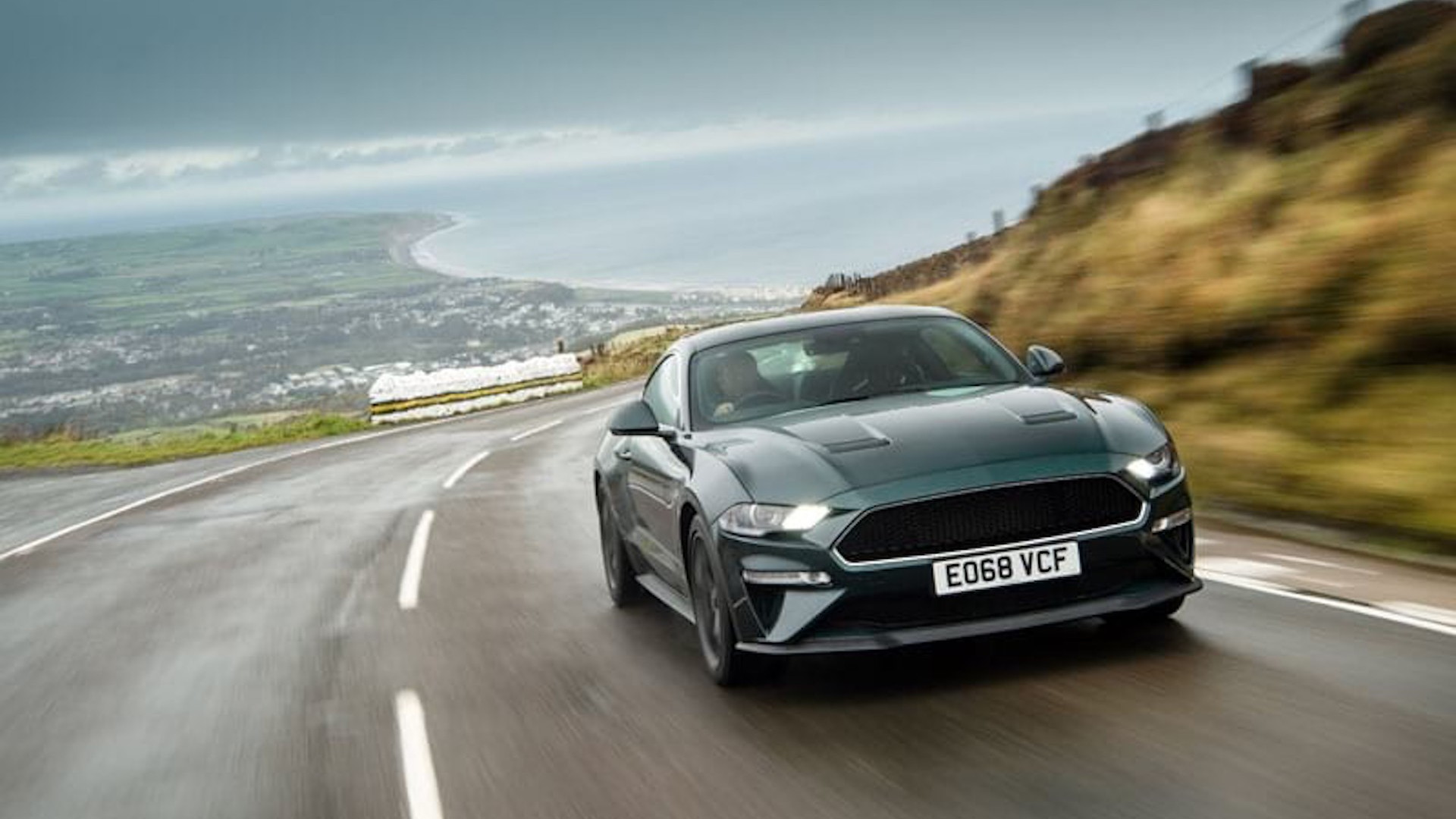 Ford Mustang Bullitt at Isle of Man