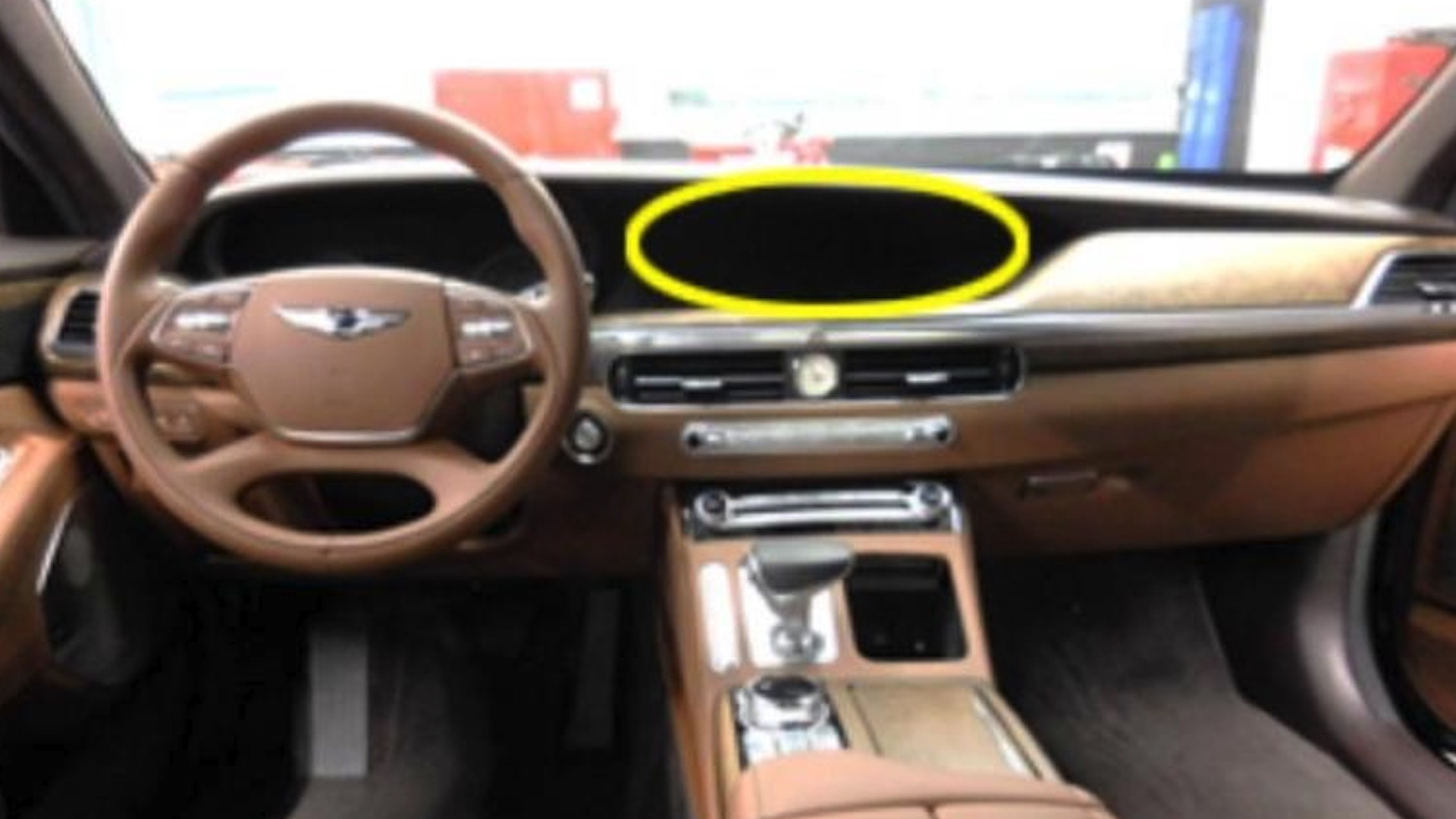 2020 Genesis G90 leaked photos via Clién
