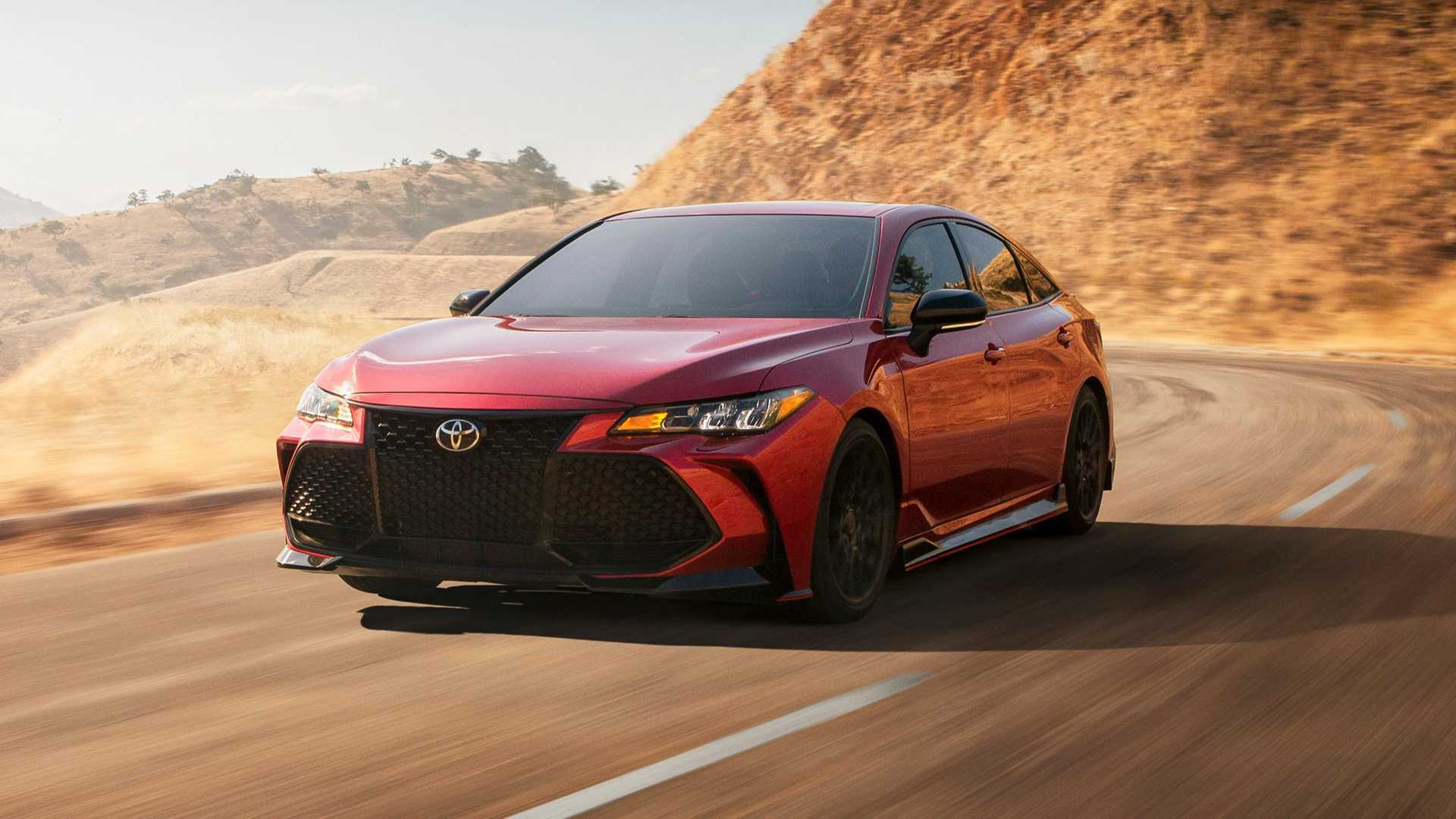 2020 Toyota Camry Avalon Receive Trd Treatment