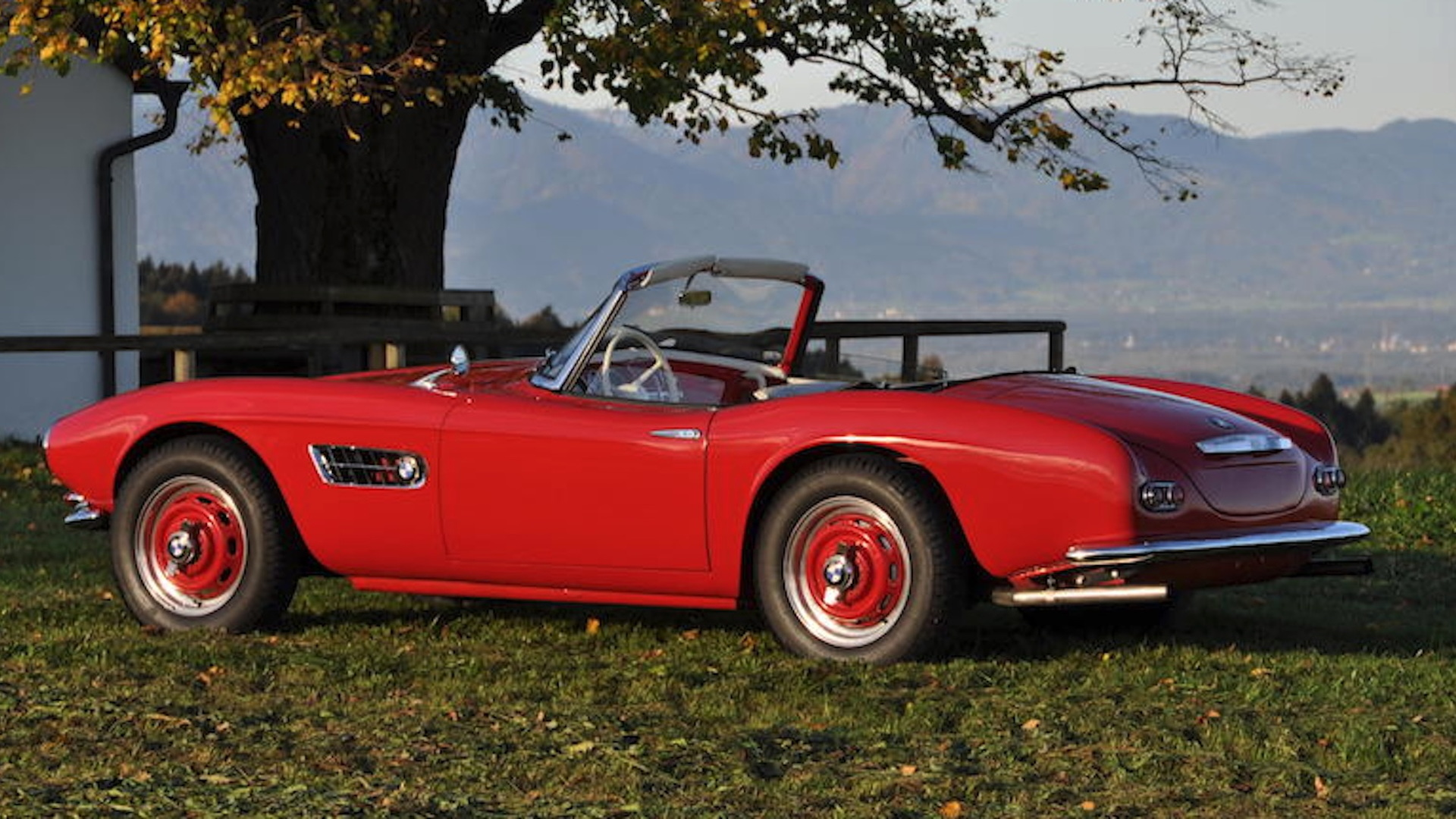 1958 BMW 507 Photo: Bonhams