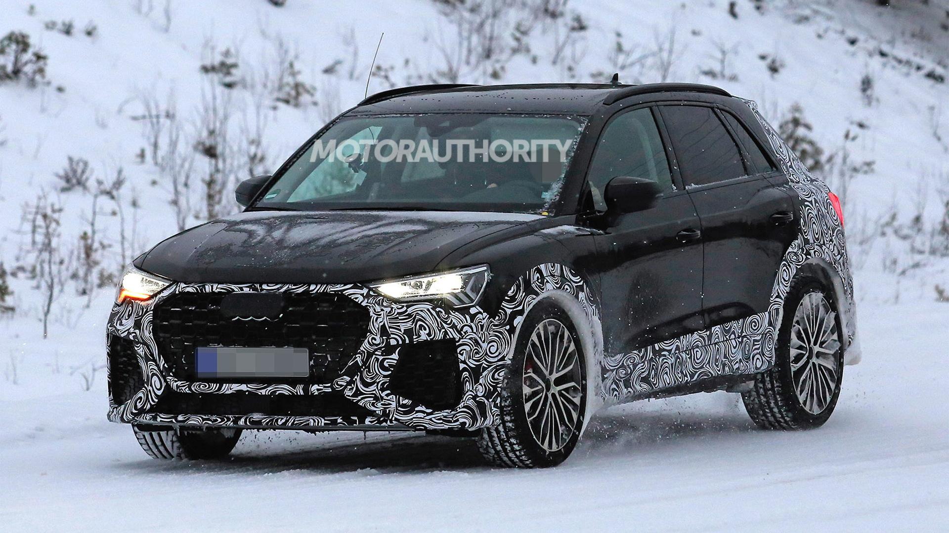 2020 Audi RS Q3 spy shots - Image via S. Baldauf/SB-Medien