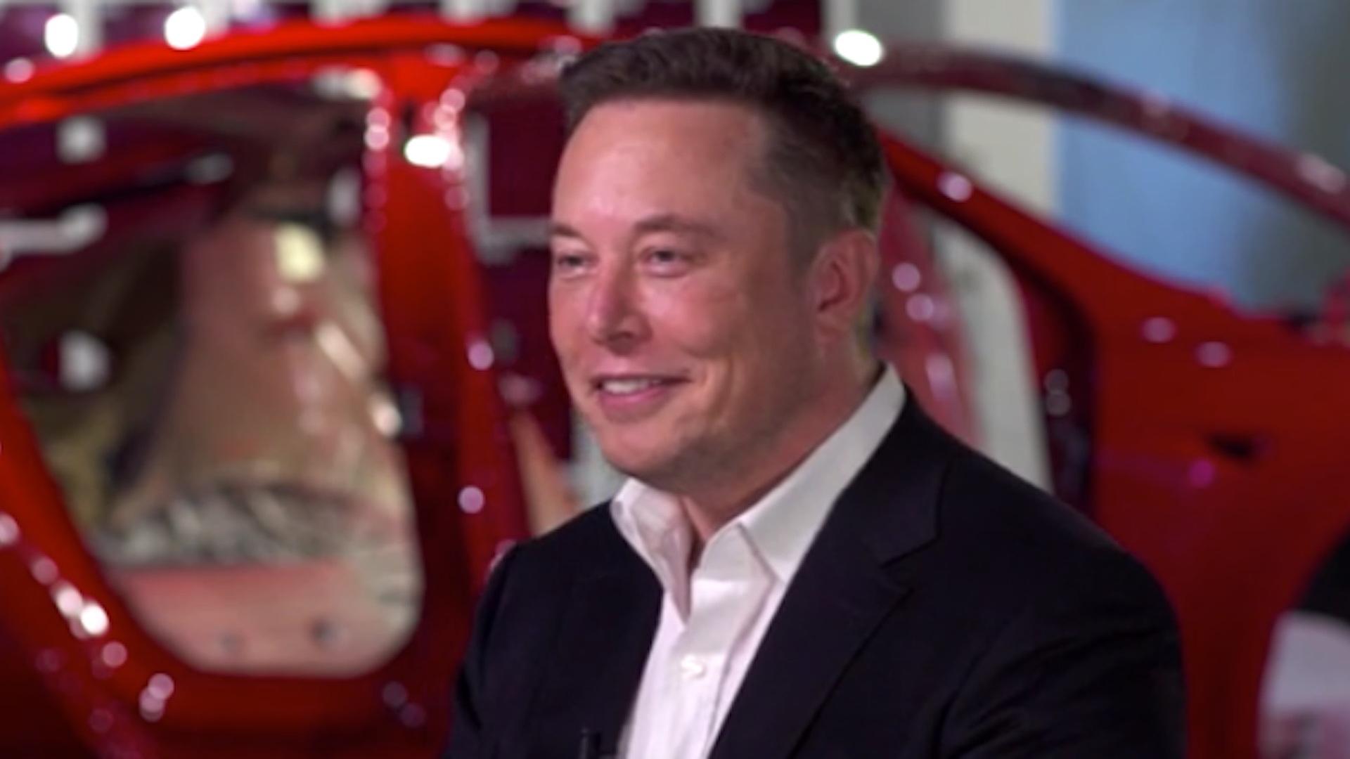 "Tesla CEO Elon Musk on ""60 Minutes"""