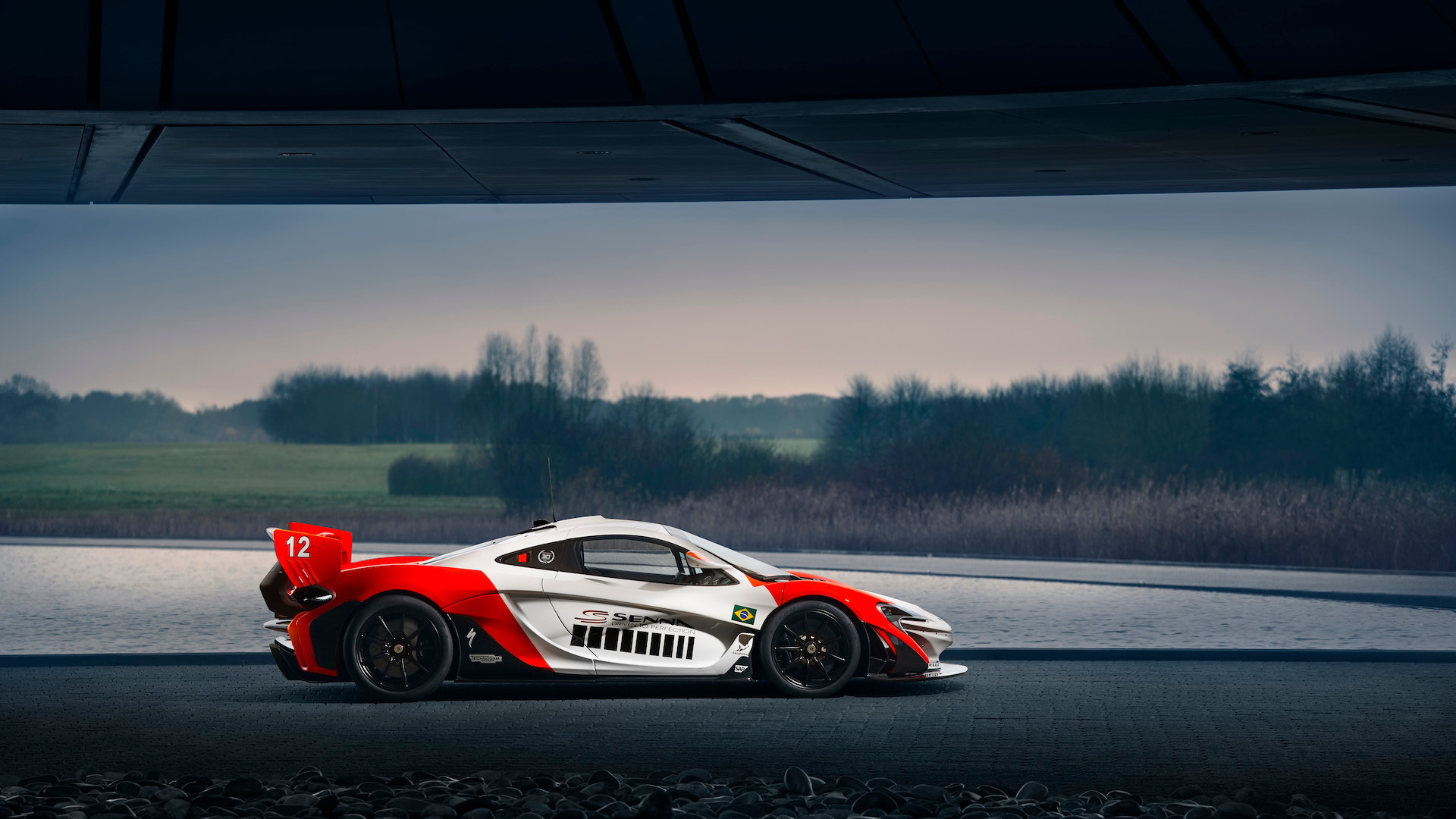 McLaren P1 GTR by MSO to commemorate Ayrton Senna