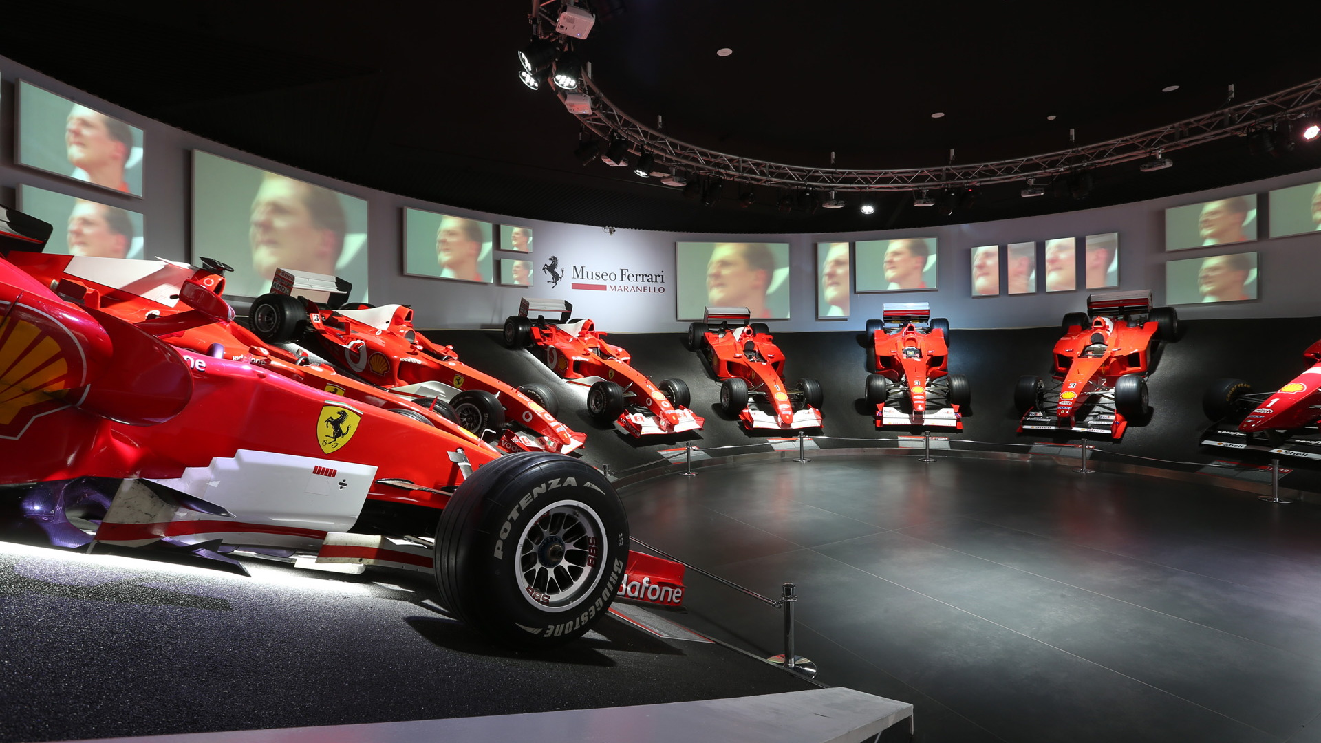 Michael 50 - Michael Schumacher exhibition at the Ferrari Museum