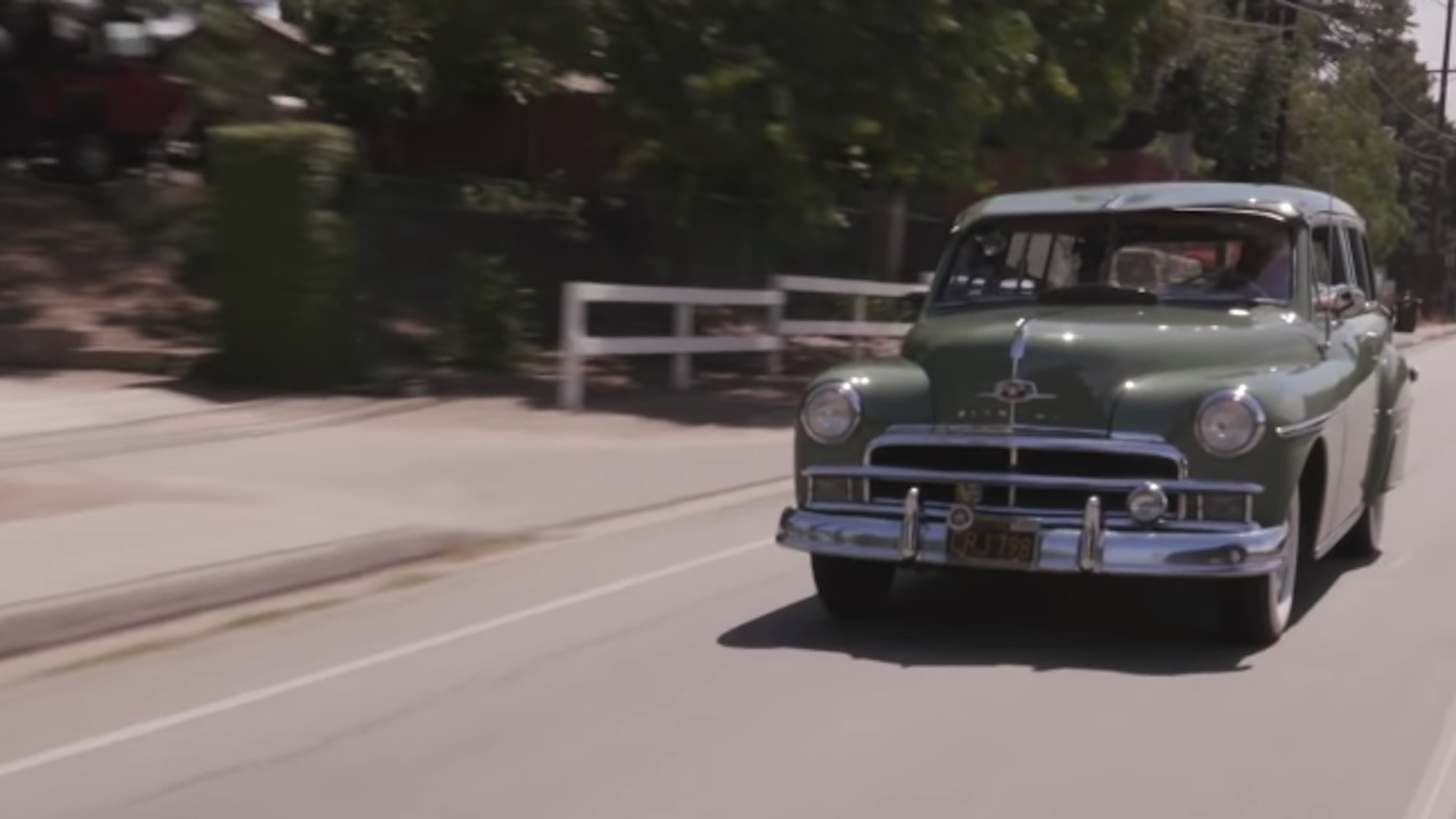 1950 Plymouth Suburban wagon on Jay Leno's Garage