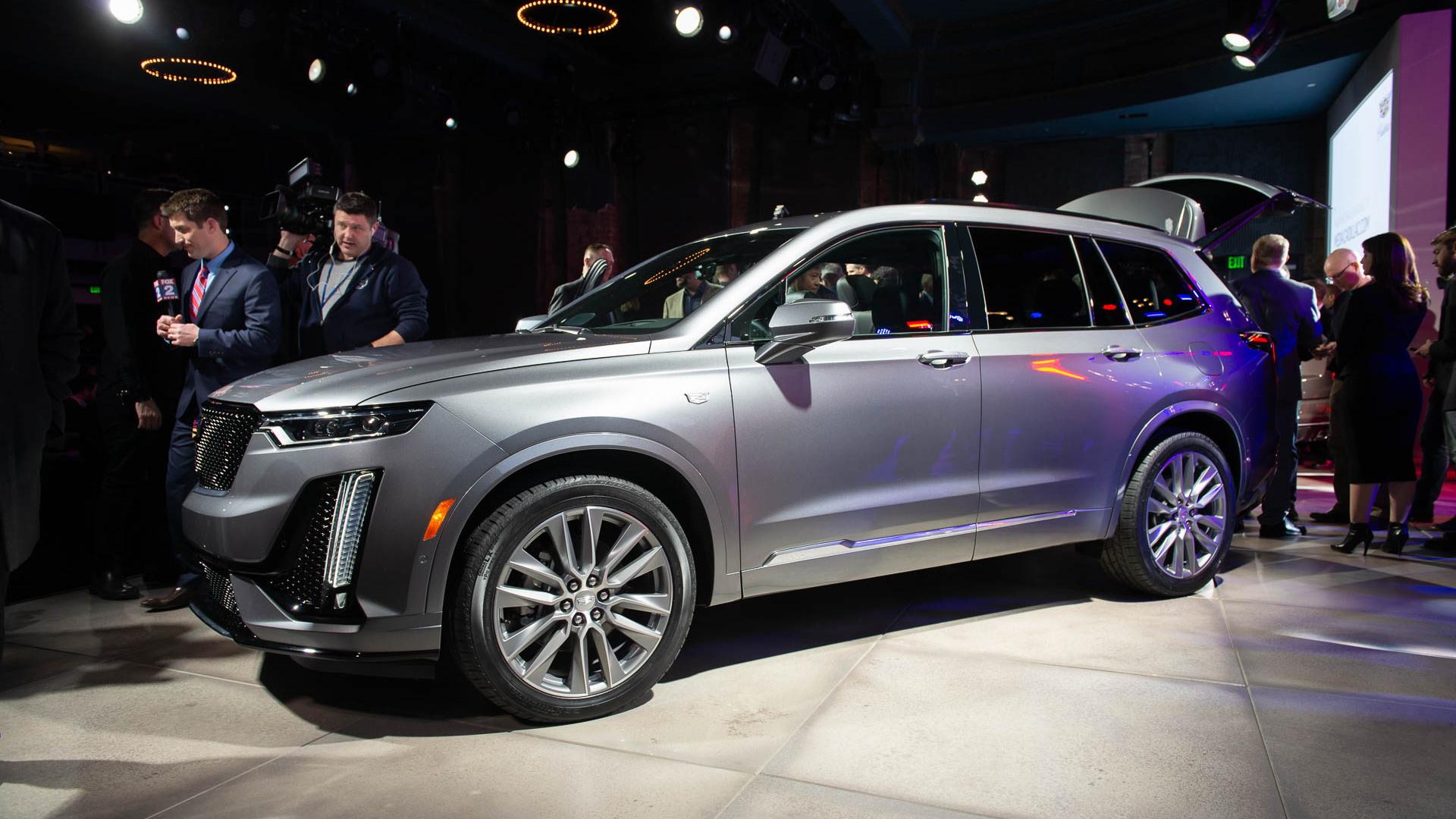 2020 Cadillac XT6, 2019 Detroit auto show