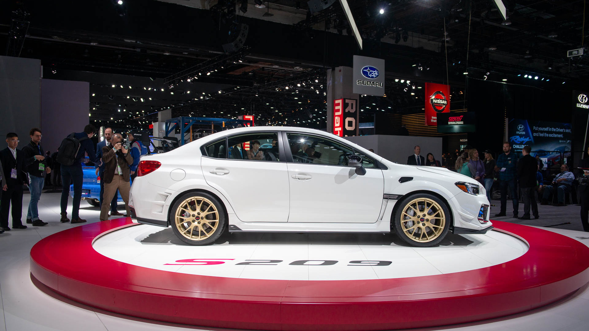 Limited Edition 341 Hp Subaru Wrx Sti S209 Storms Detroit