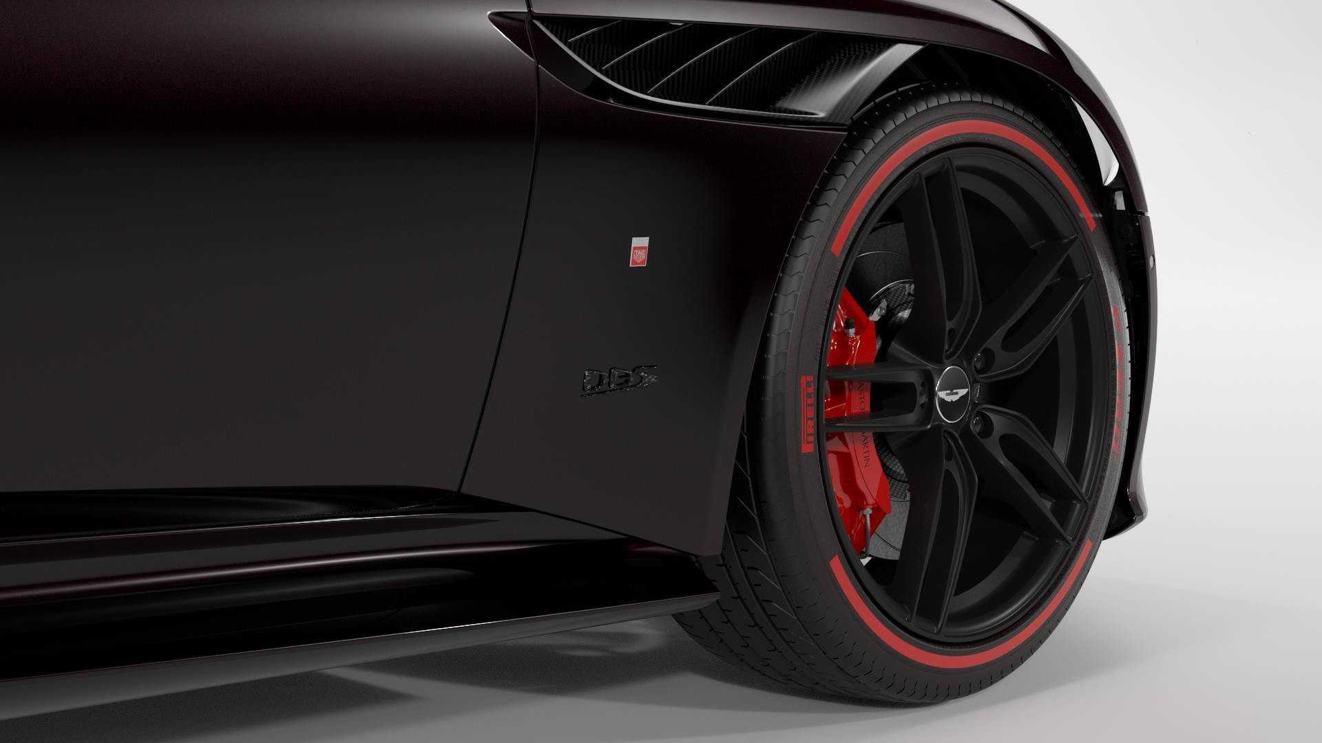 2019 Aston Martin DBS Superleggera Tag Heuer Edition