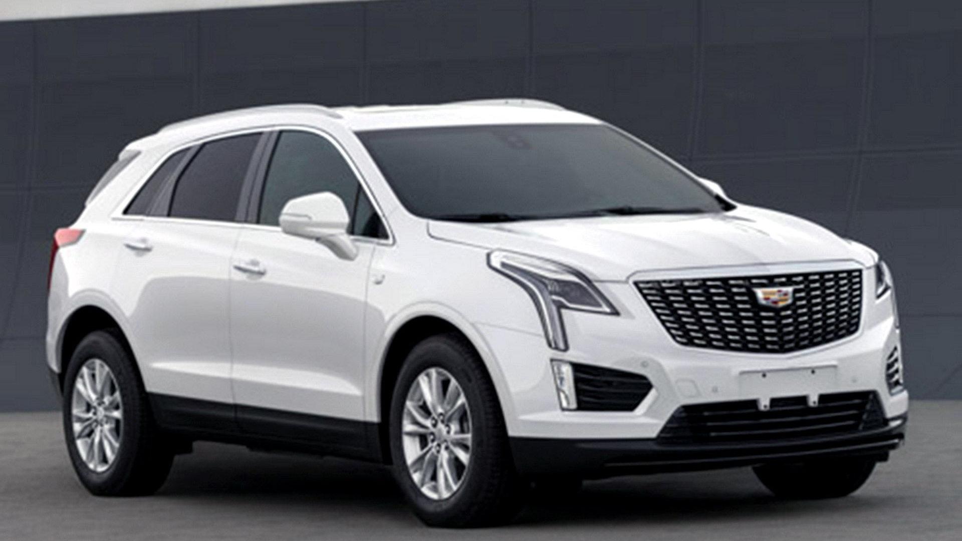 2020 Cadillac XT5 leak - Image via Autohome