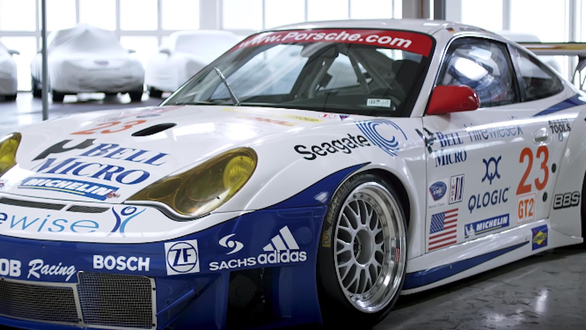 996-generation 911 RSR race car
