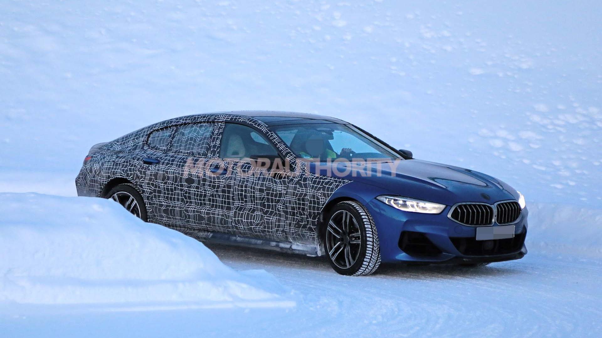 2020 BMW 8-Series Gran Coupe spy shots