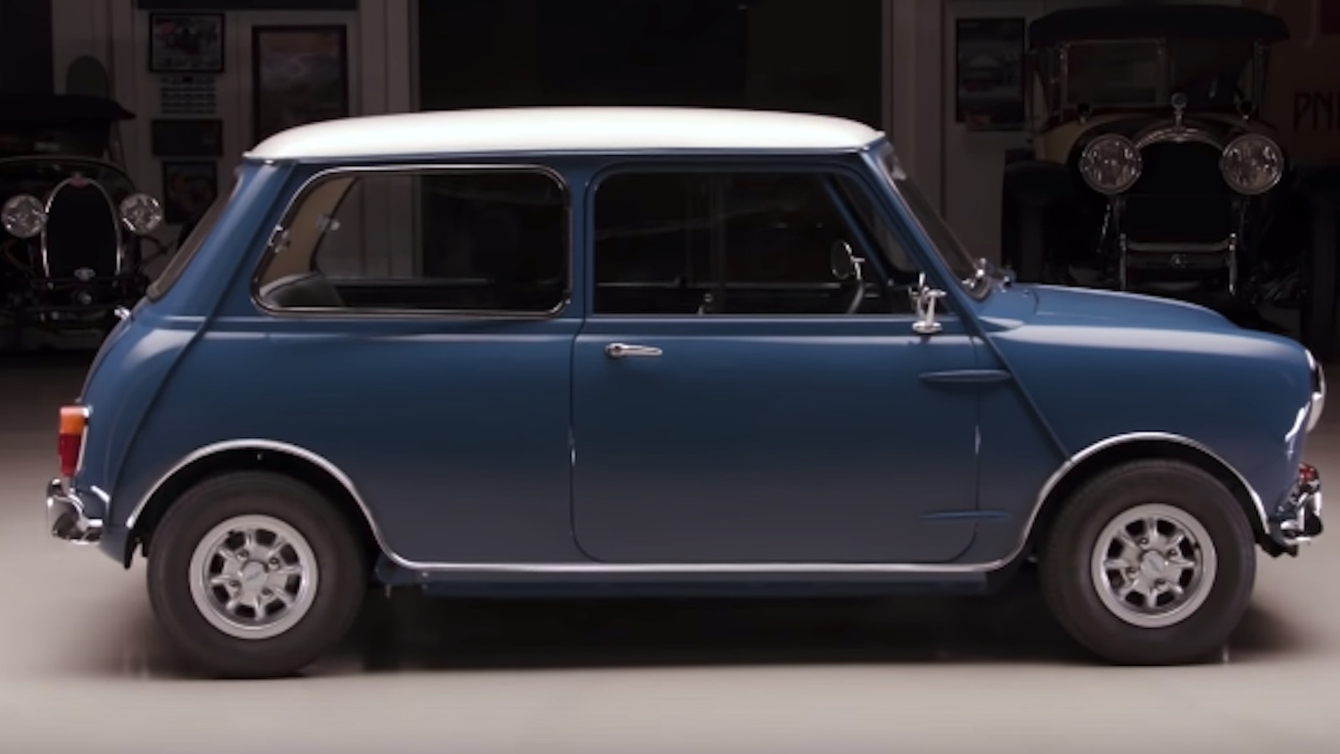1965 Morris Mini Minor Scoots Into Jay Lenos Garage