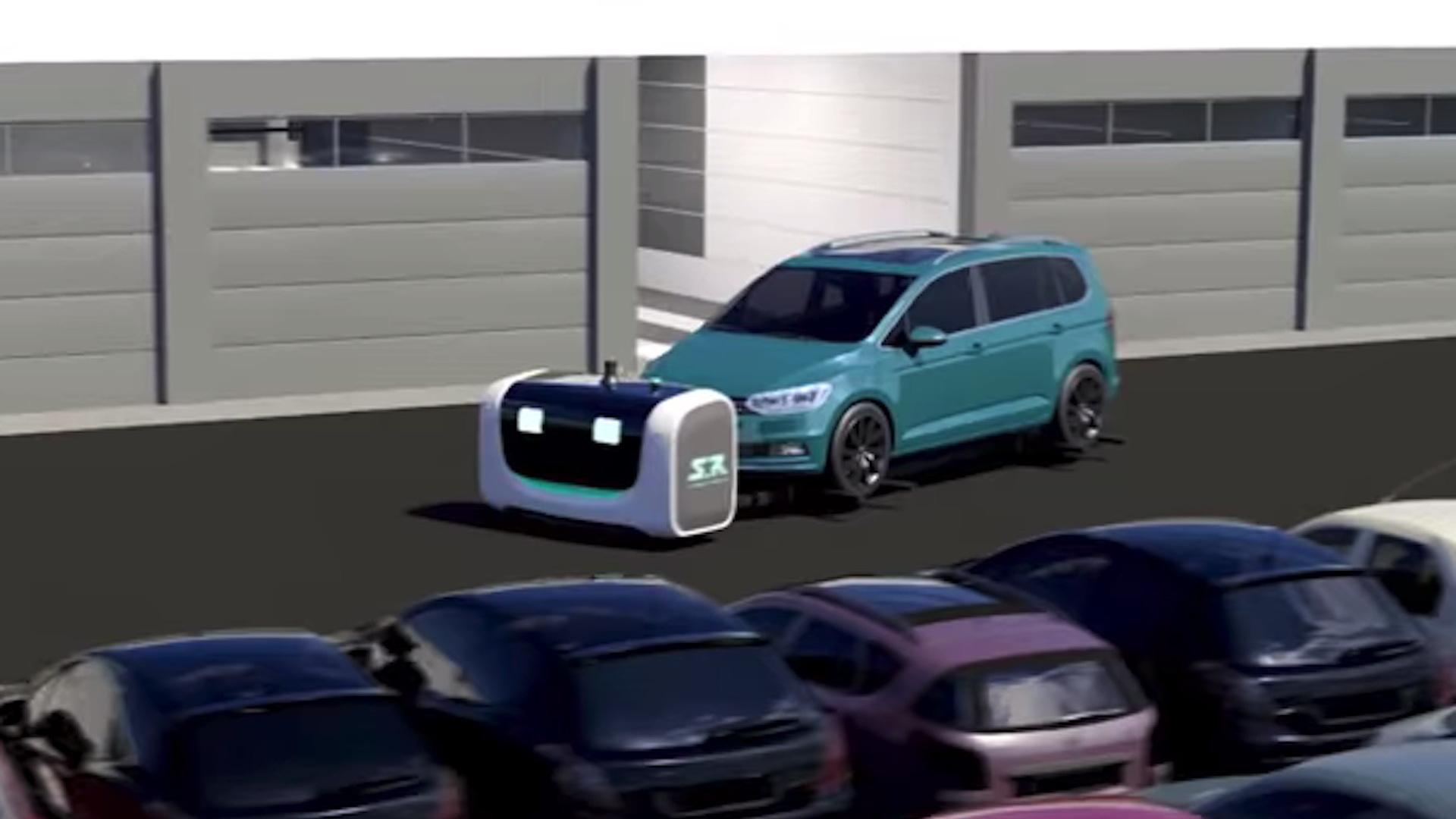 Stanley Robotics car parking robots