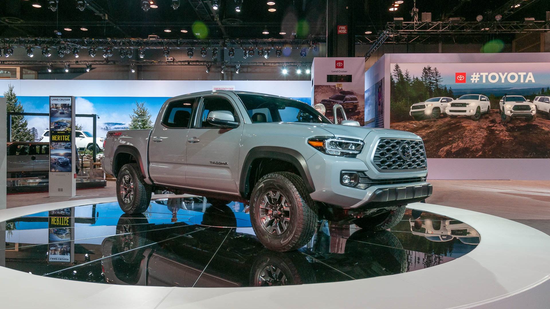 2020 Toyota Tacoma, 2019 Chicago Auto Show