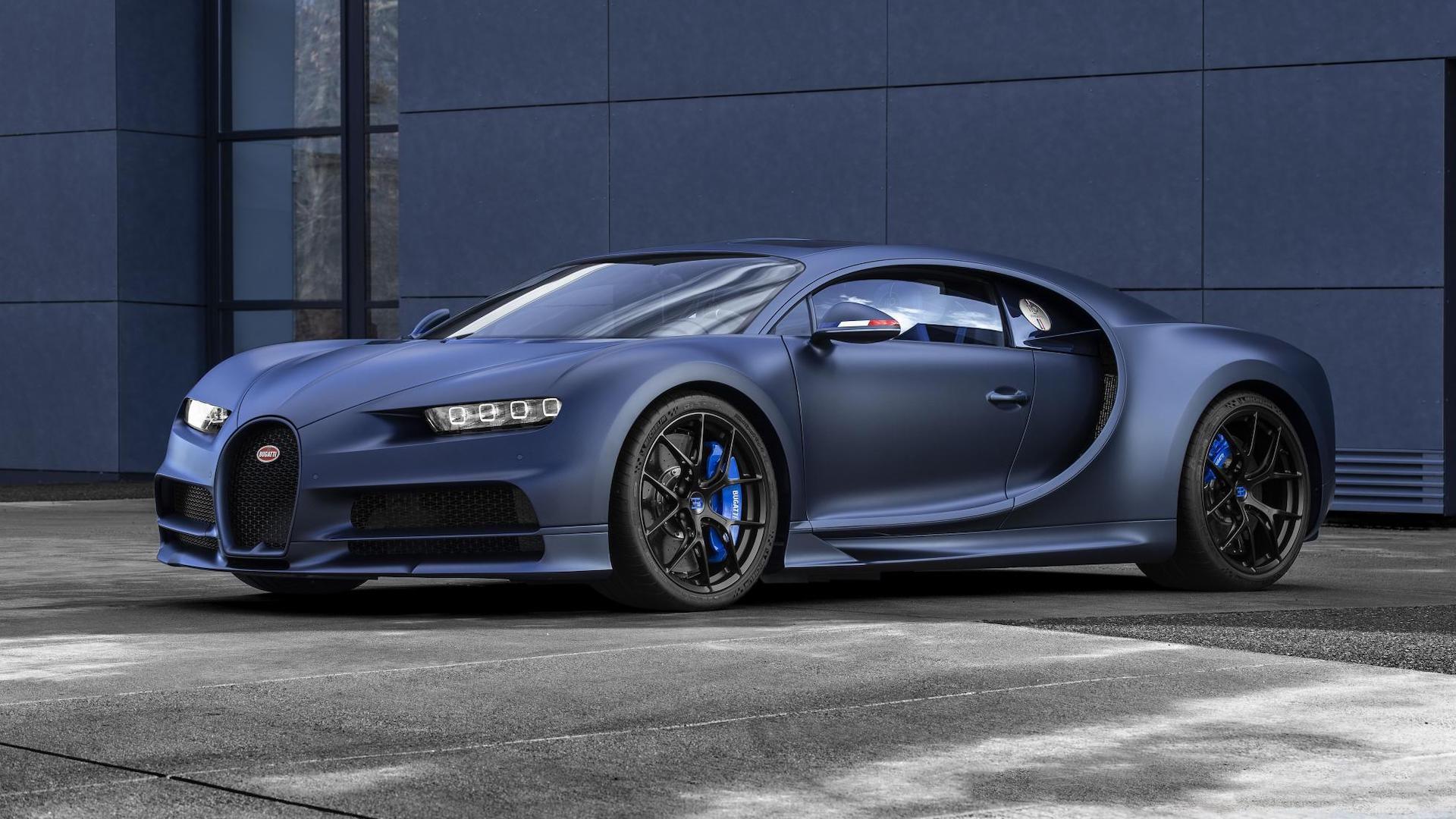 Bugatti Chiron 110 Ans Bugatti special edition