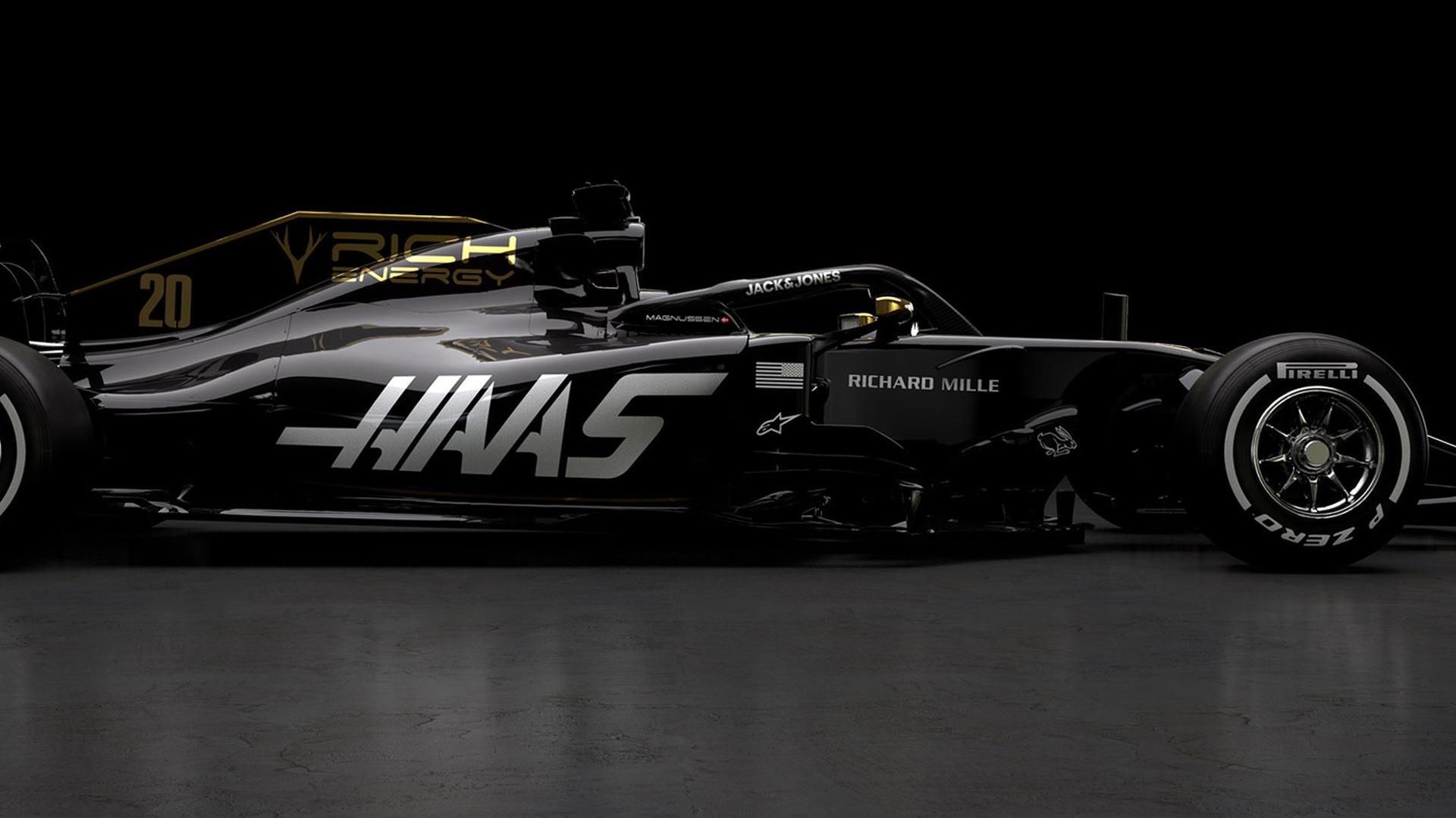 2019 Haas VF-19 Formula 1 race car