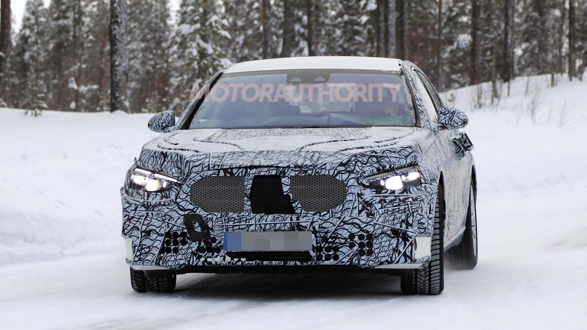 2021 Mercedes-Benz S-Class spy shots