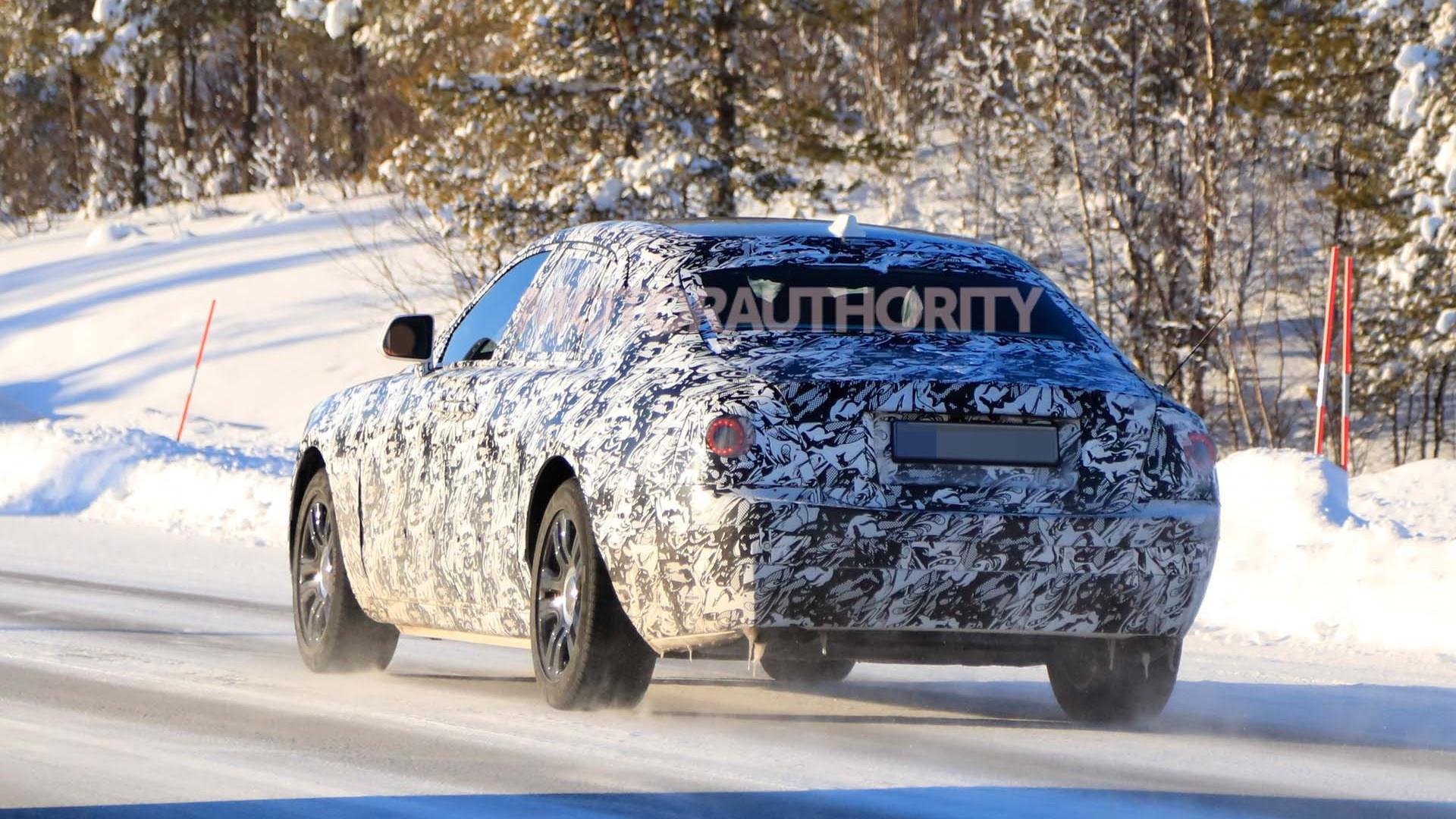 2021 Rolls-Royce Ghost spy shots