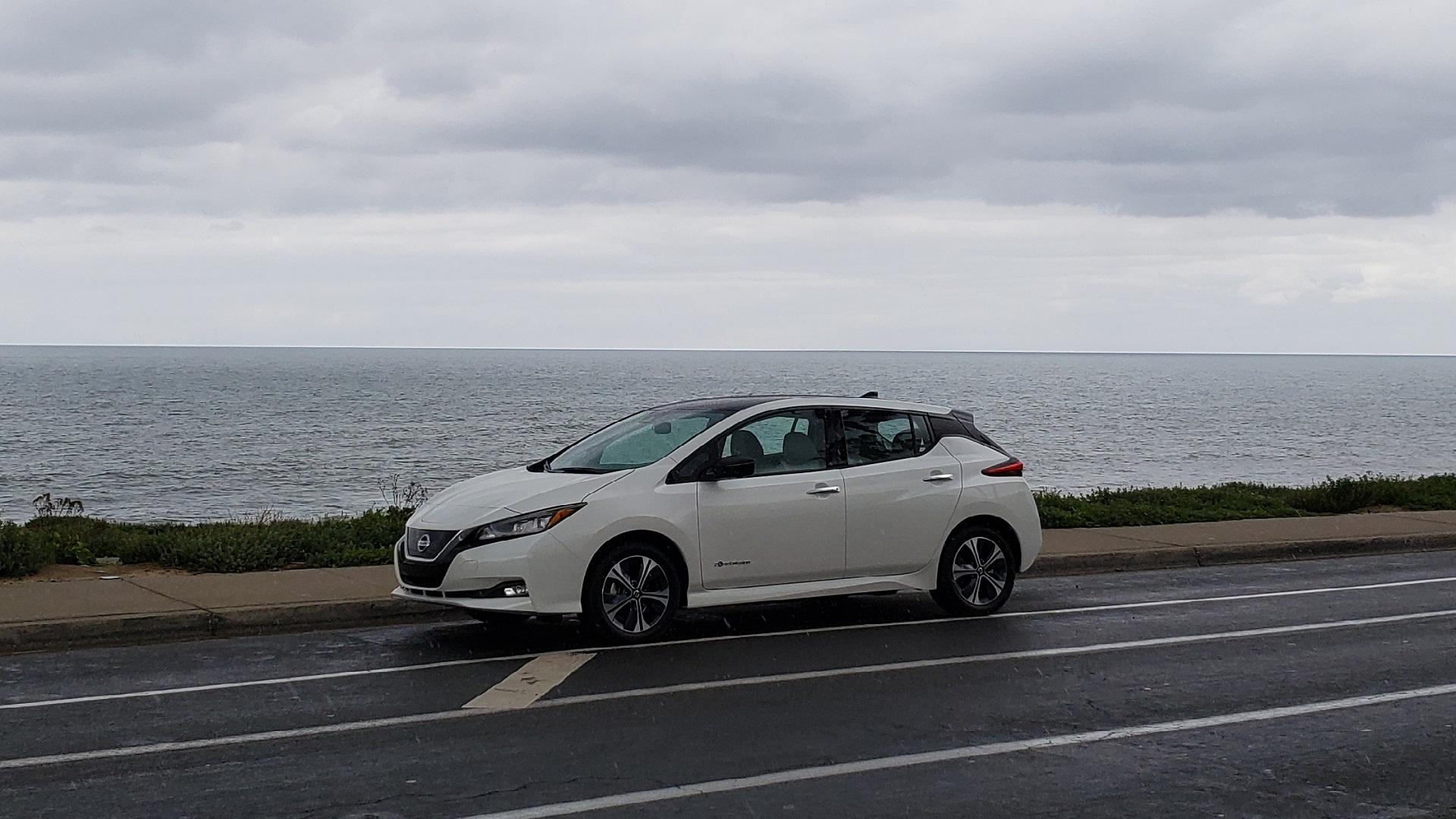 2019 Nissan Leaf Plus, San Diego area, Feb 2019