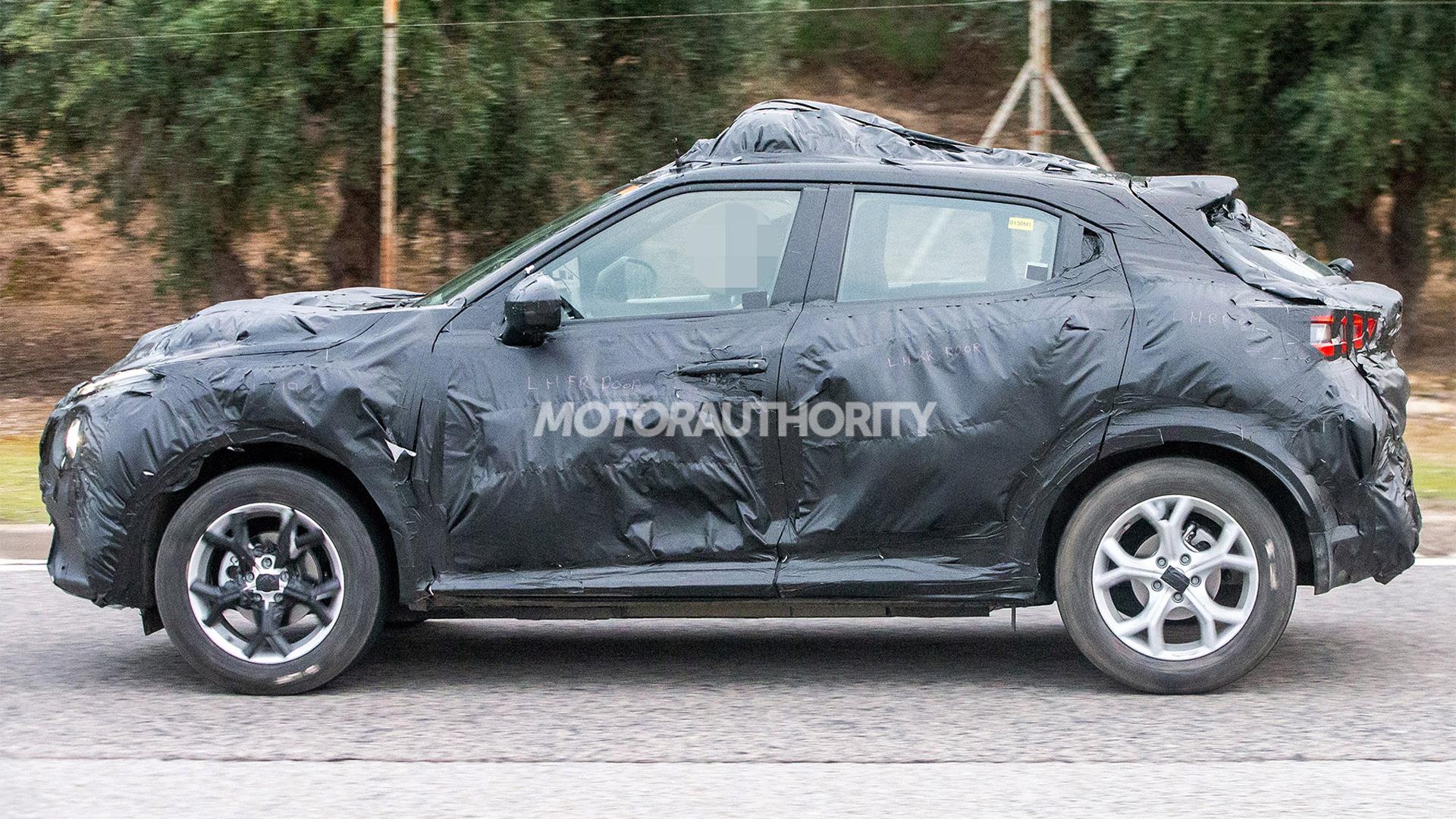 2020 Nissan Juke spy shots - Image via S. Baldauf/SB-Medien