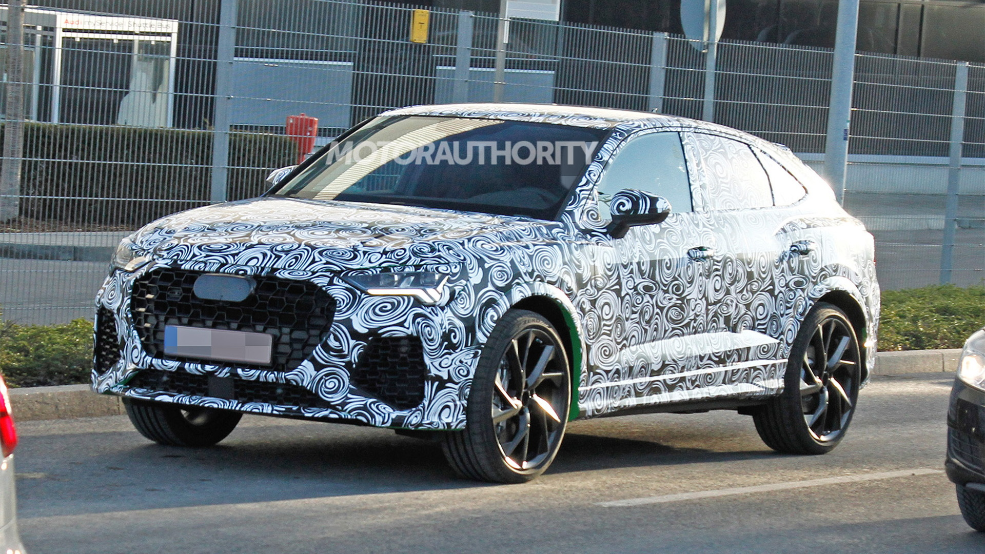 2021 Audi RS Q4 spy shots - Image via S. Baldauf/SB-Medien