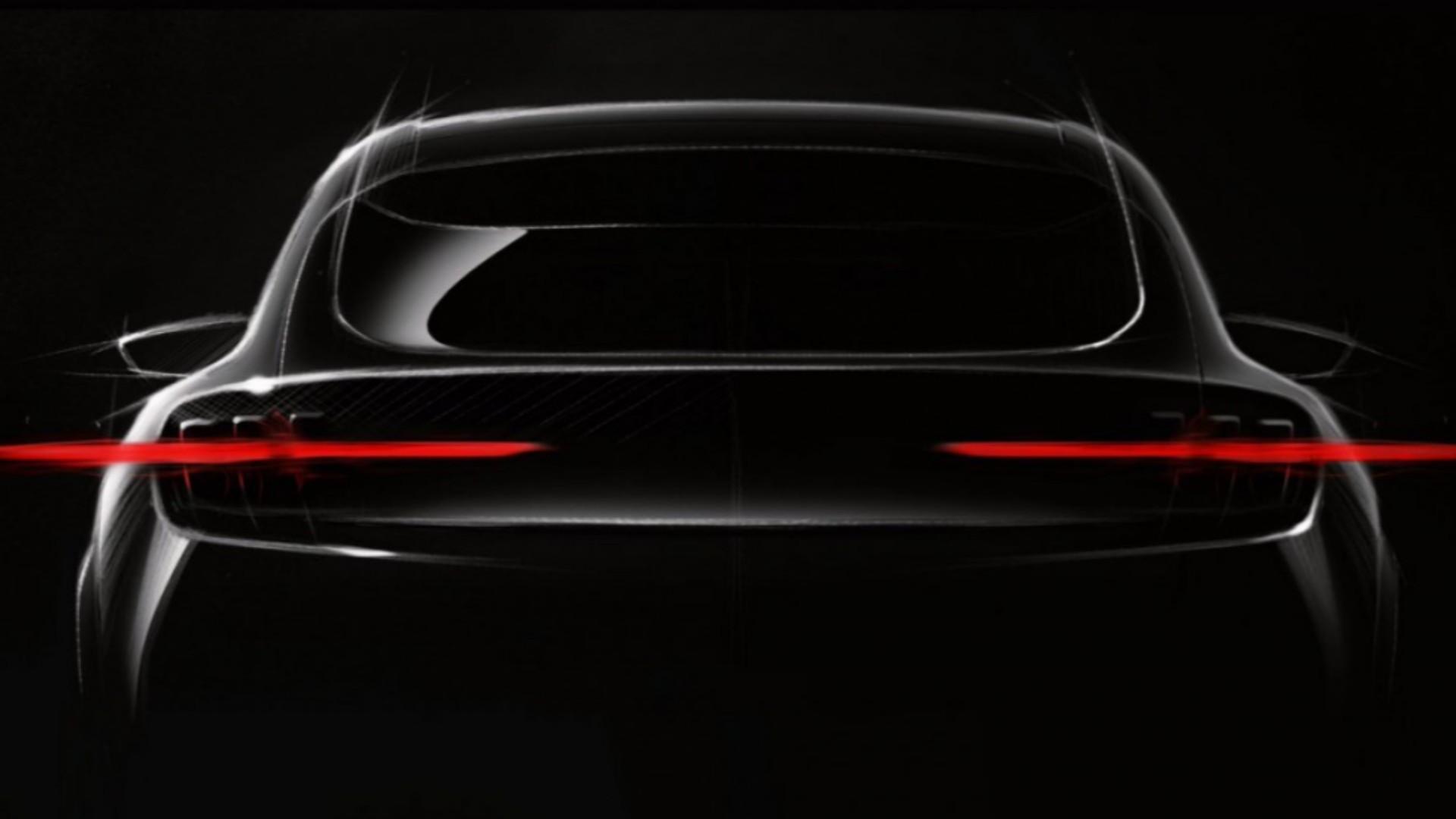Ford crossover EV teaser photo