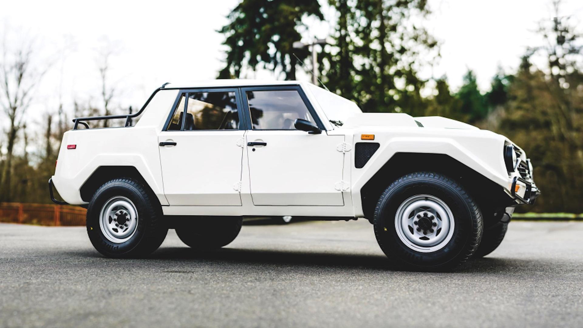 1988 Lamborghini LM002 for sale, via RM Sotheby's