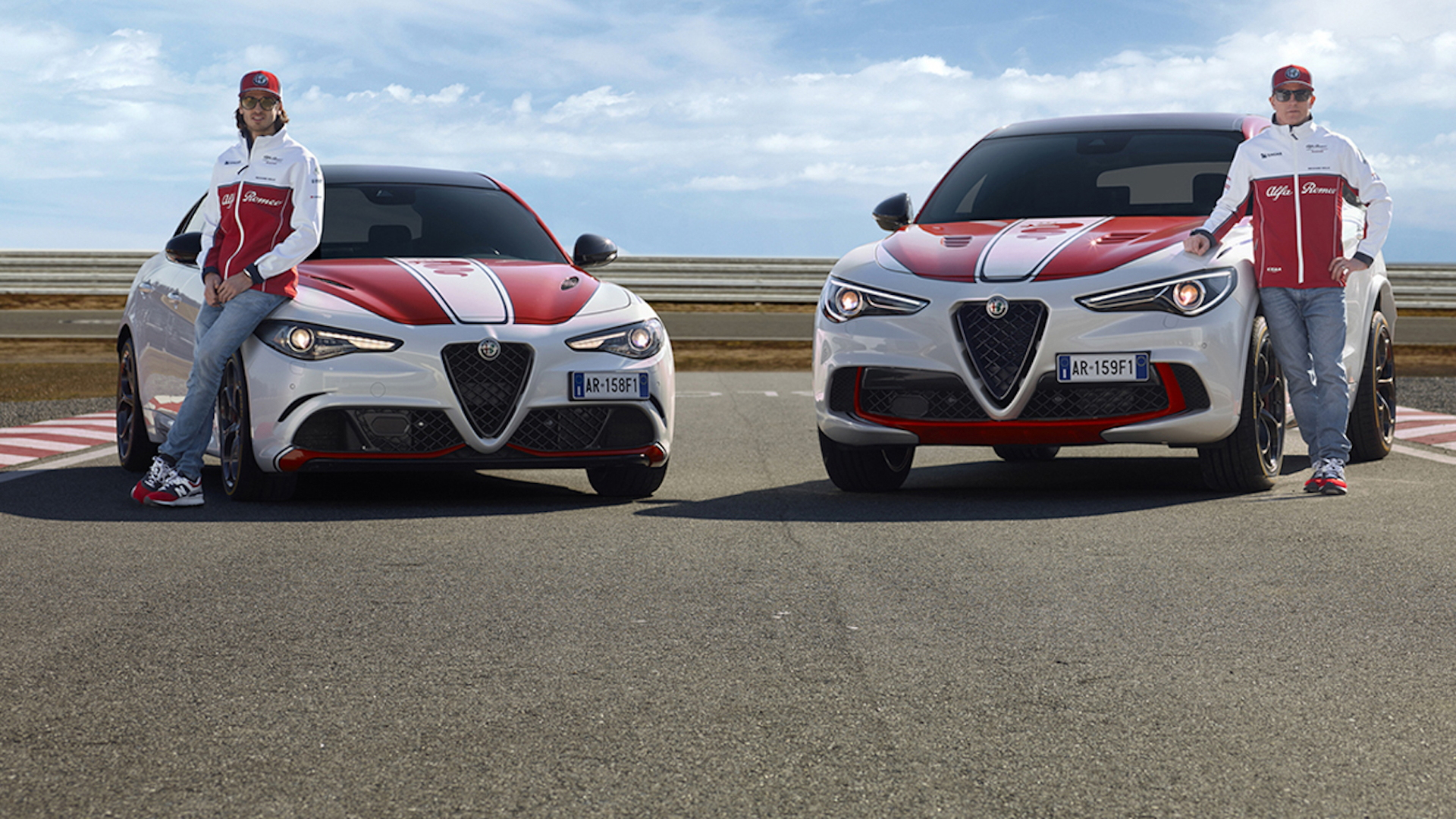 Giulia and Stelvio Quadrifoglio Alfa Romeo Racing limited editions