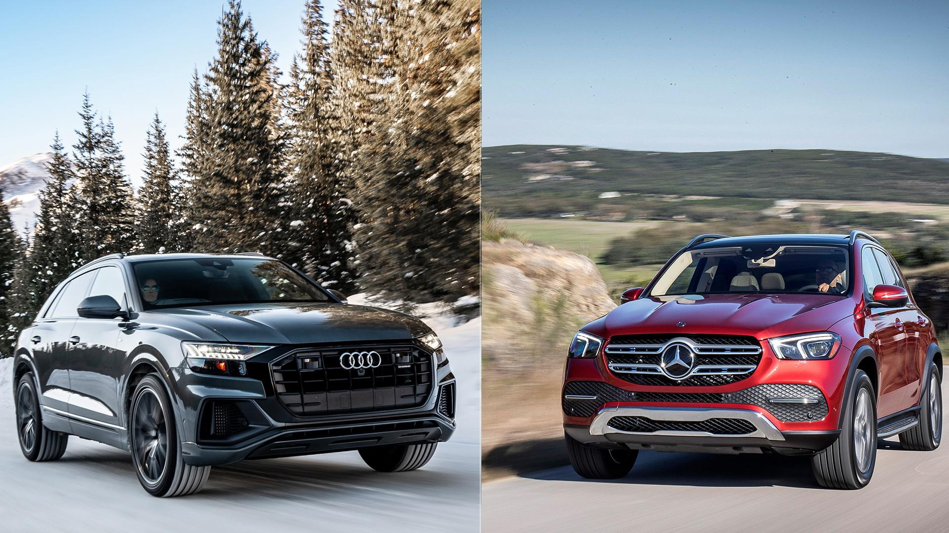 2019 Audi Q8 vs. 2020 Mercedes-Benz GLE-Class