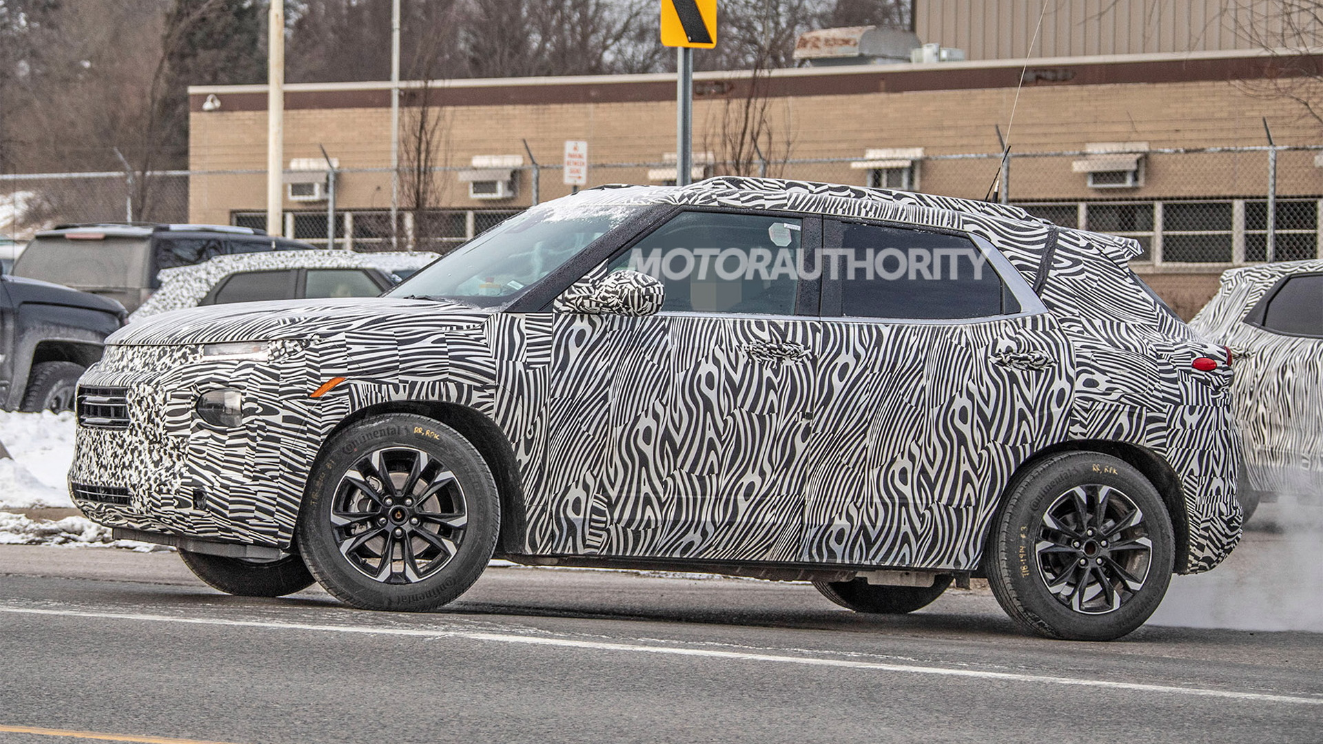2020 Chevrolet Trailblazer spy shots