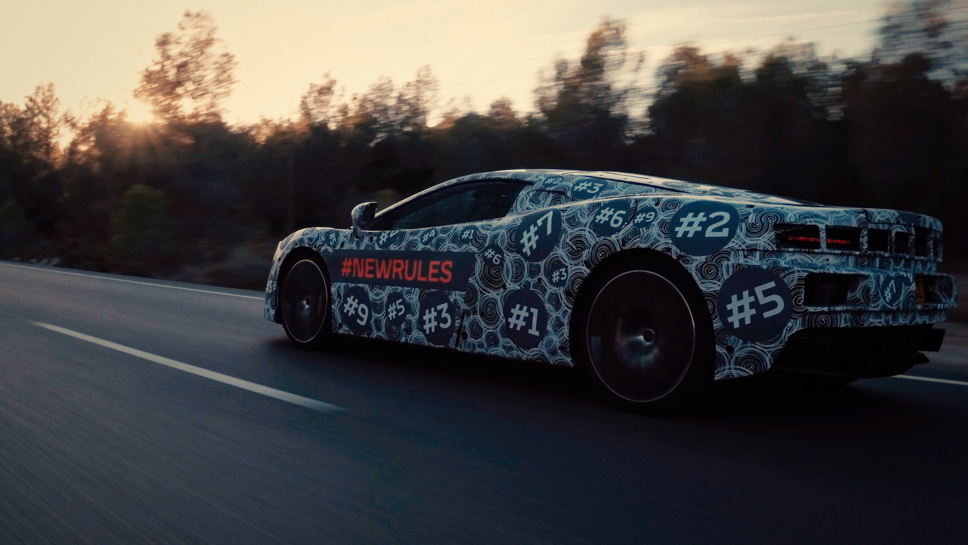 Teaser for new McLaren GT car