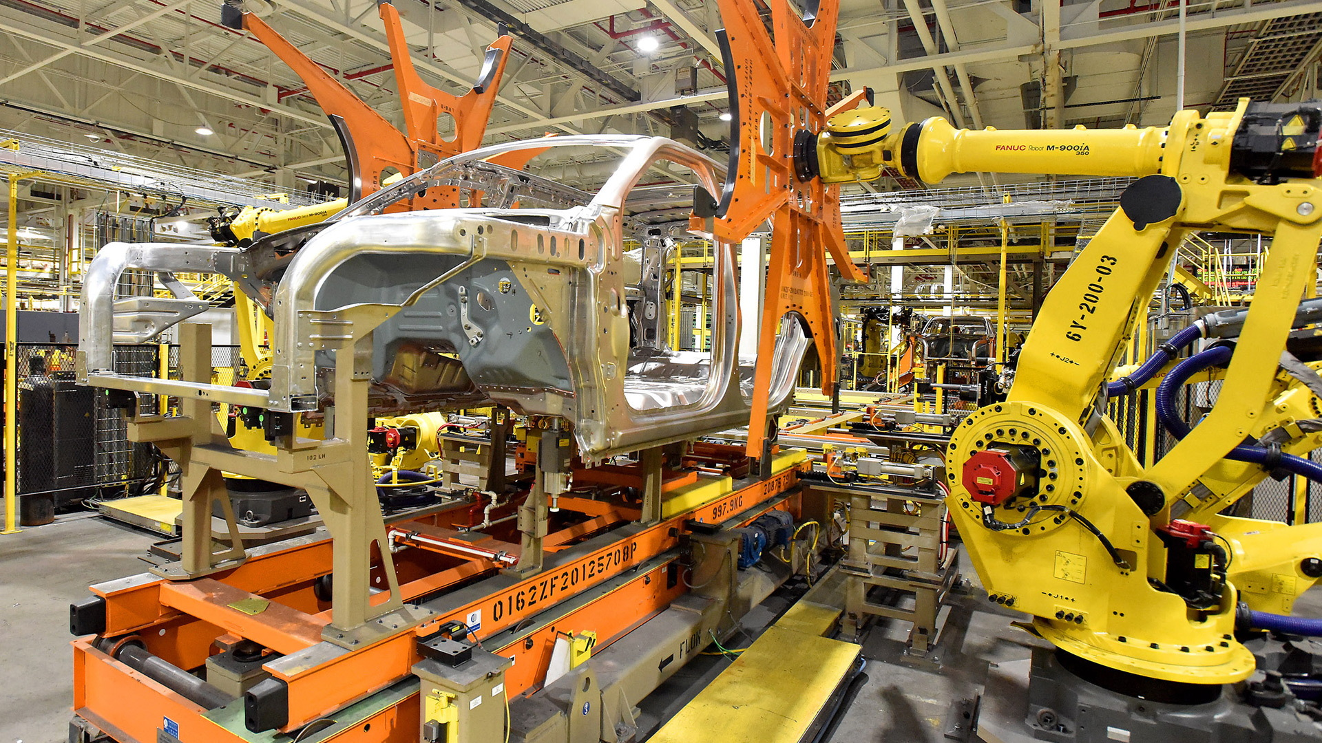 Ford Explorer and Lincoln Navigator production at Kentucky Truck Plant in Louisville, Kentucky
