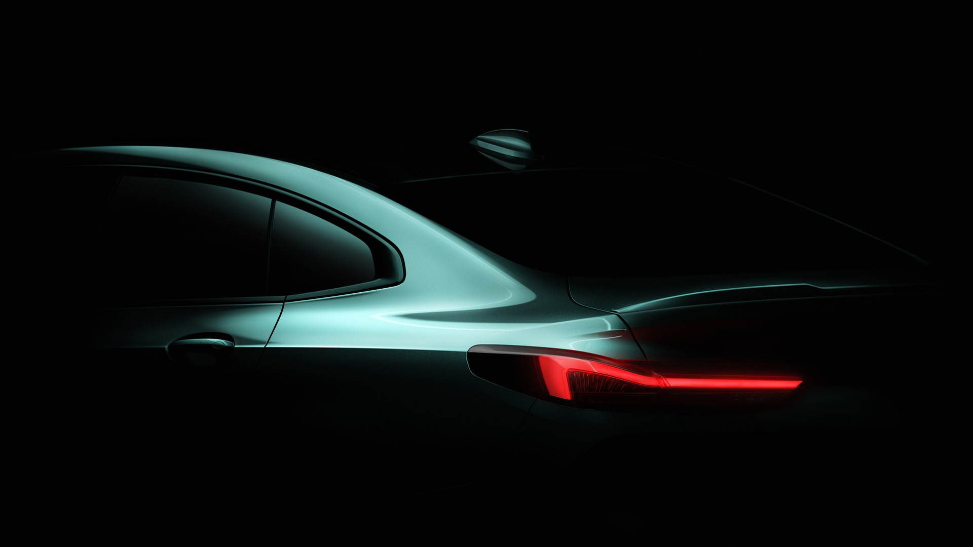 Teaser for BMW 2-Series Gran Coupe debuting at  2019 Los Angeles Auto Show