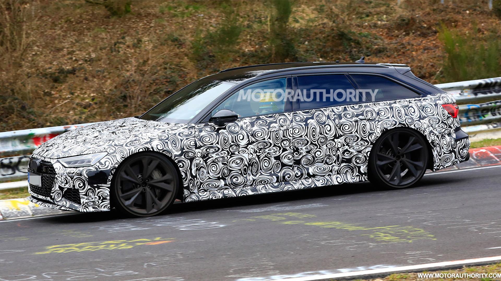 2020 Audi RS 6 Avant spy shots - Image via S. Baldauf/SB-Medien