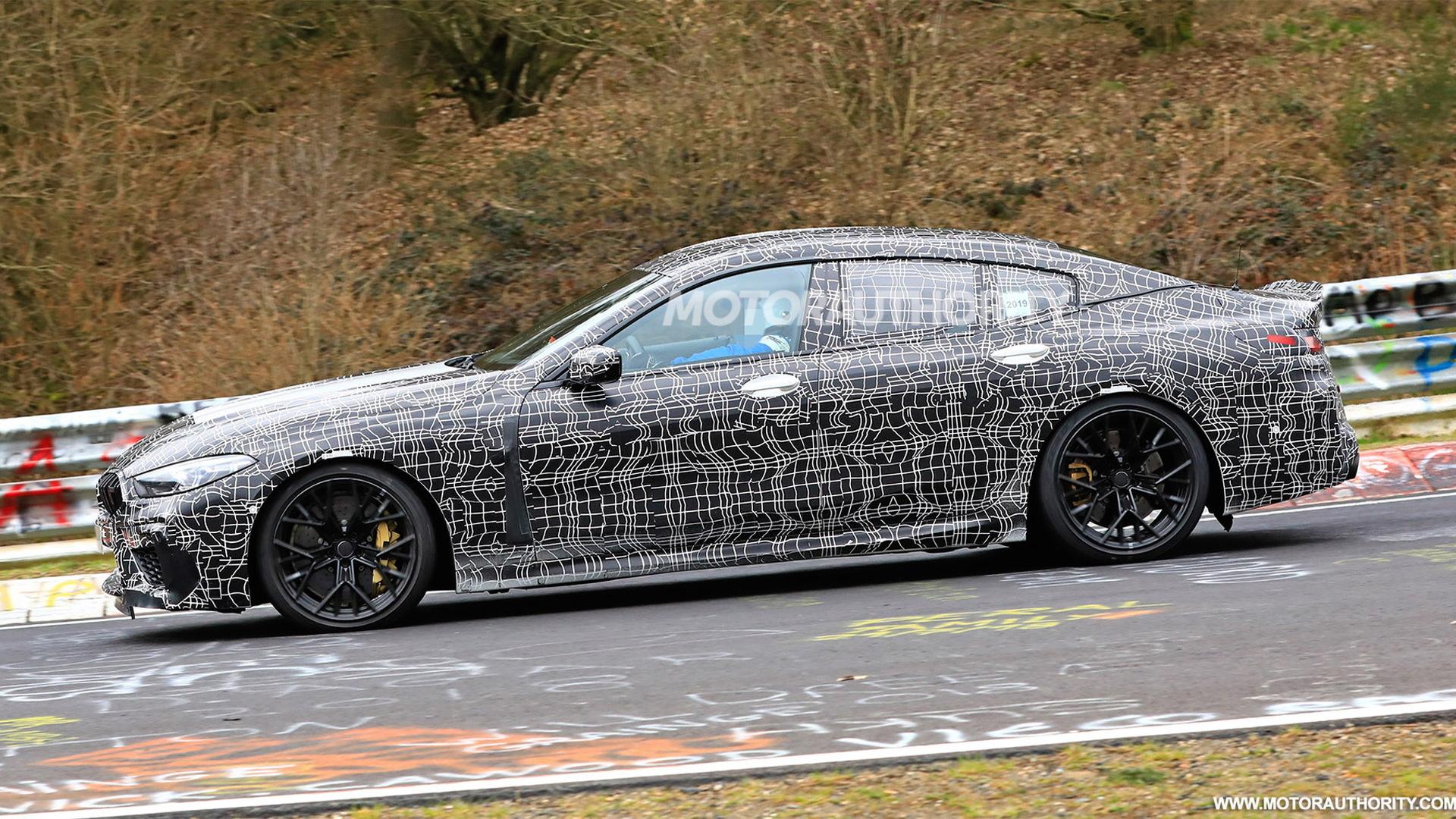 2020 BMW M8 Gran Coupe spy shots - Image via S. Baldauf/SB-Medien