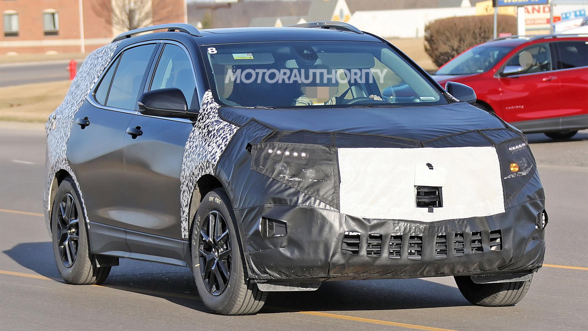 2020 Chevrolet Equinox facelift spy shots - Image via S. Baldauf/SB-Medien
